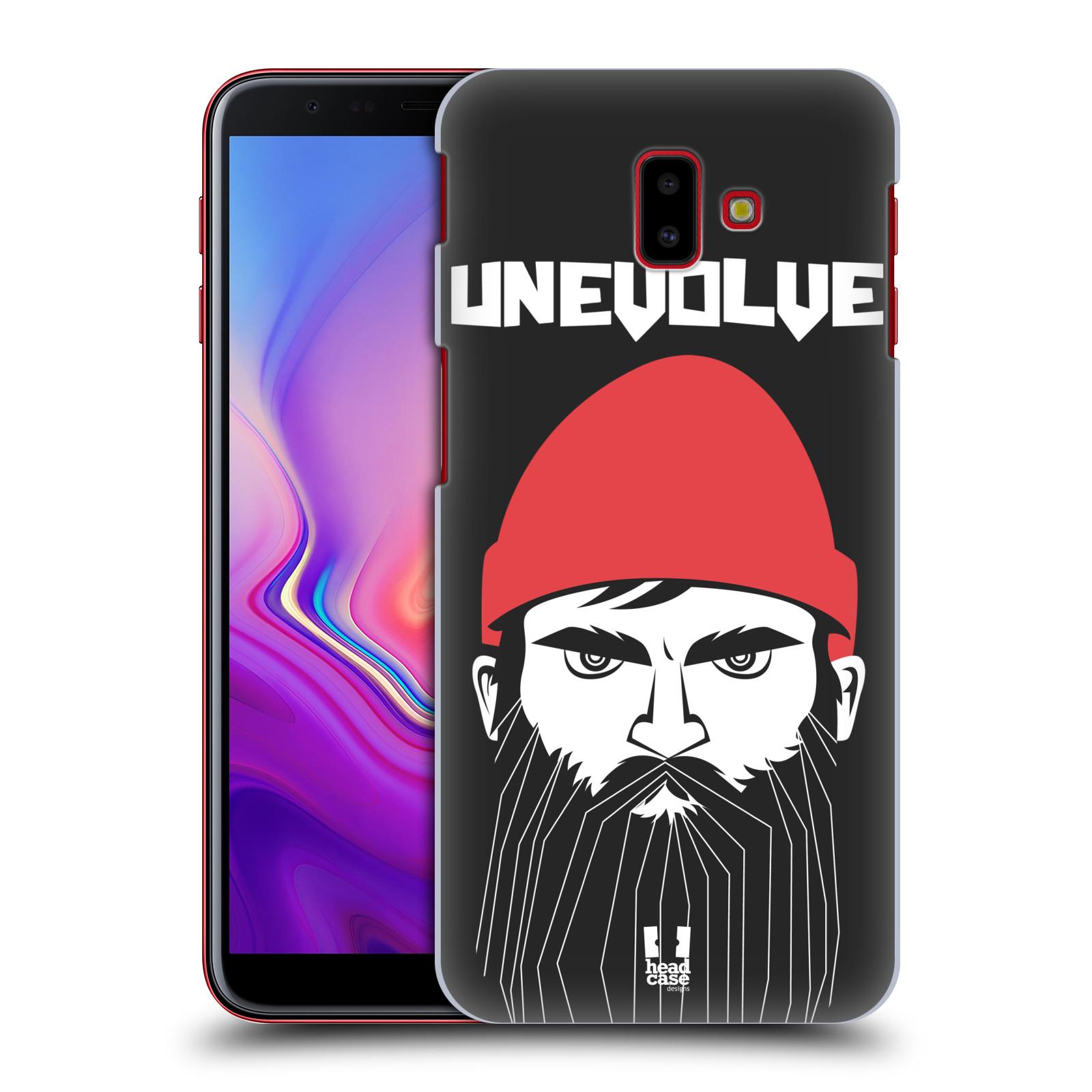 Plastové pouzdro na mobil Samsung Galaxy J6 Plus - Head Case - KNÍRAČ UNEVOLVE