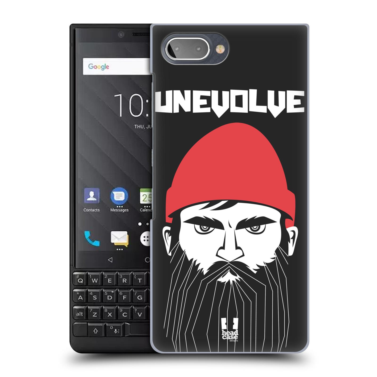 Plastové pouzdro na mobil Blackberry Key 2 - Head Case - KNÍRAČ UNEVOLVE