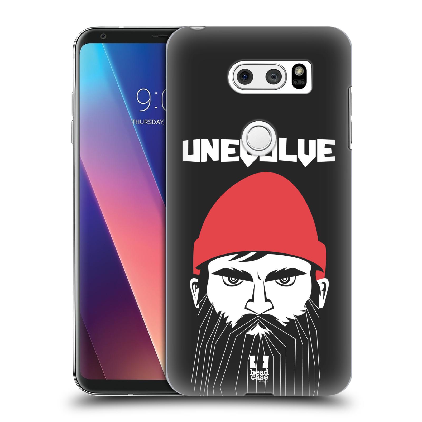 Plastové pouzdro na mobil LG V30 - Head Case - KNÍRAČ UNEVOLVE