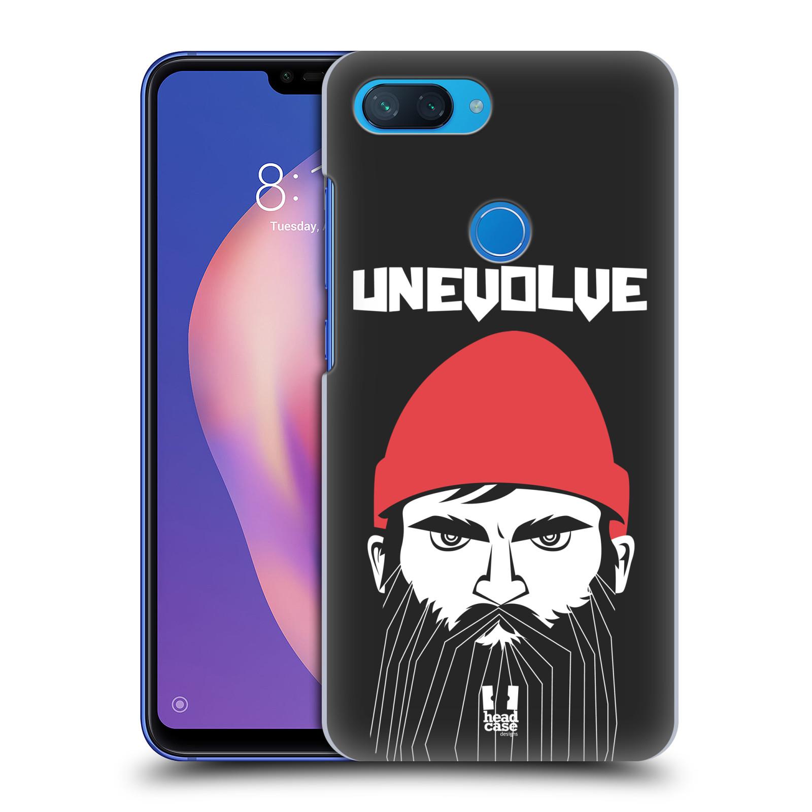 Plastové pouzdro na mobil Xiaomi Mi 8 Lite - Head Case - KNÍRAČ UNEVOLVE