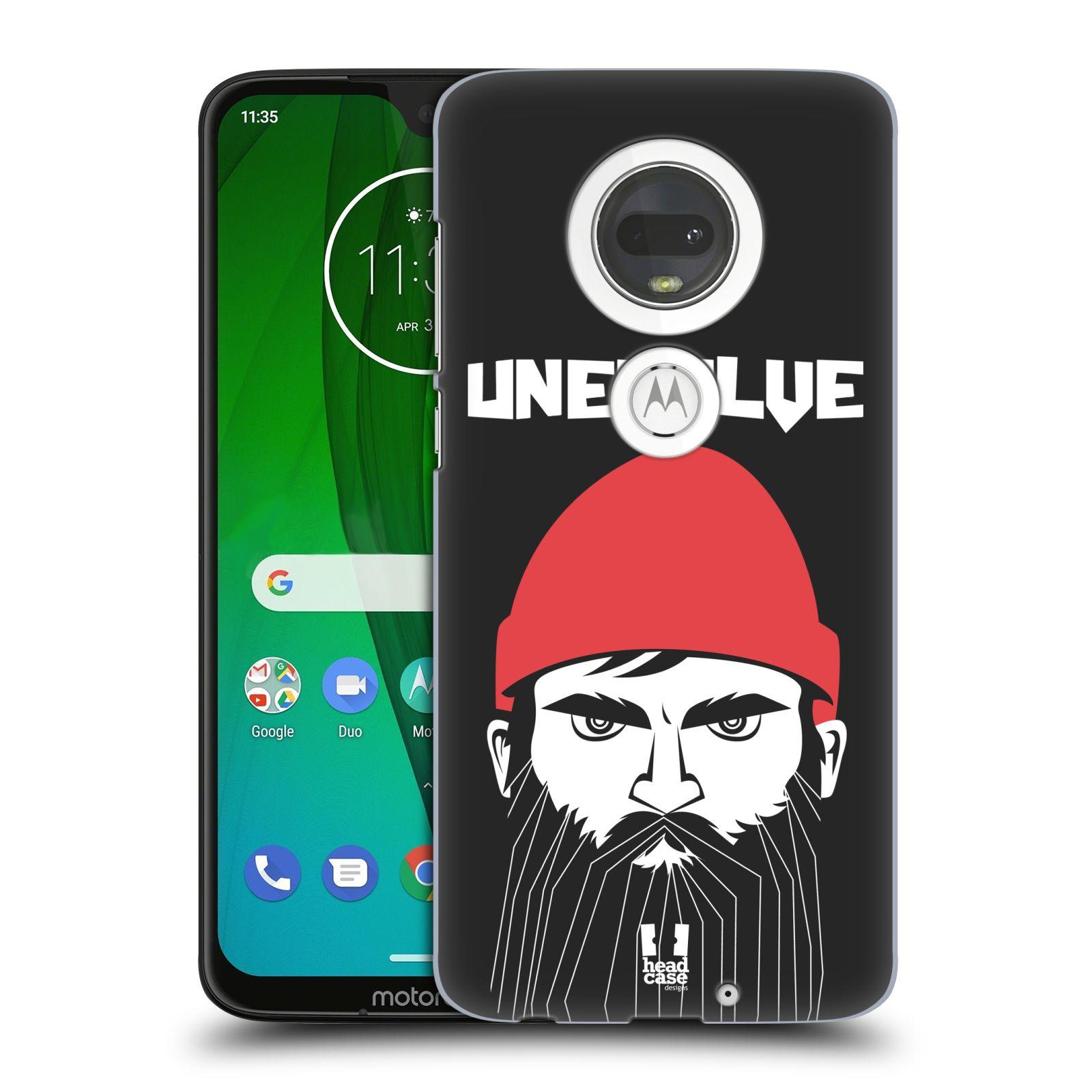 Plastové pouzdro na mobil Motorola Moto G7 - Head Case - KNÍRAČ UNEVOLVE