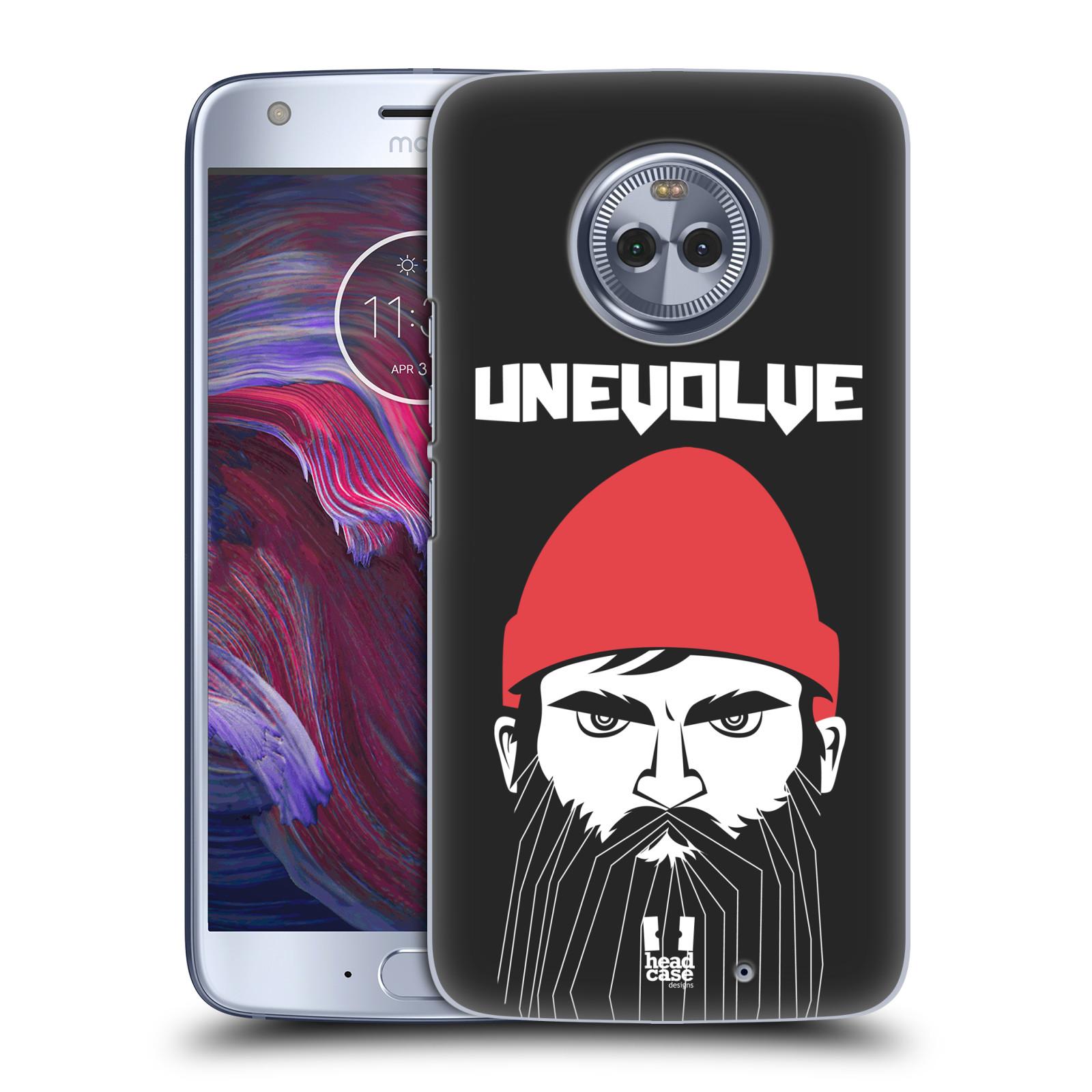 Plastové pouzdro na mobil Lenovo Moto X4 - Head Case - KNÍRAČ UNEVOLVE