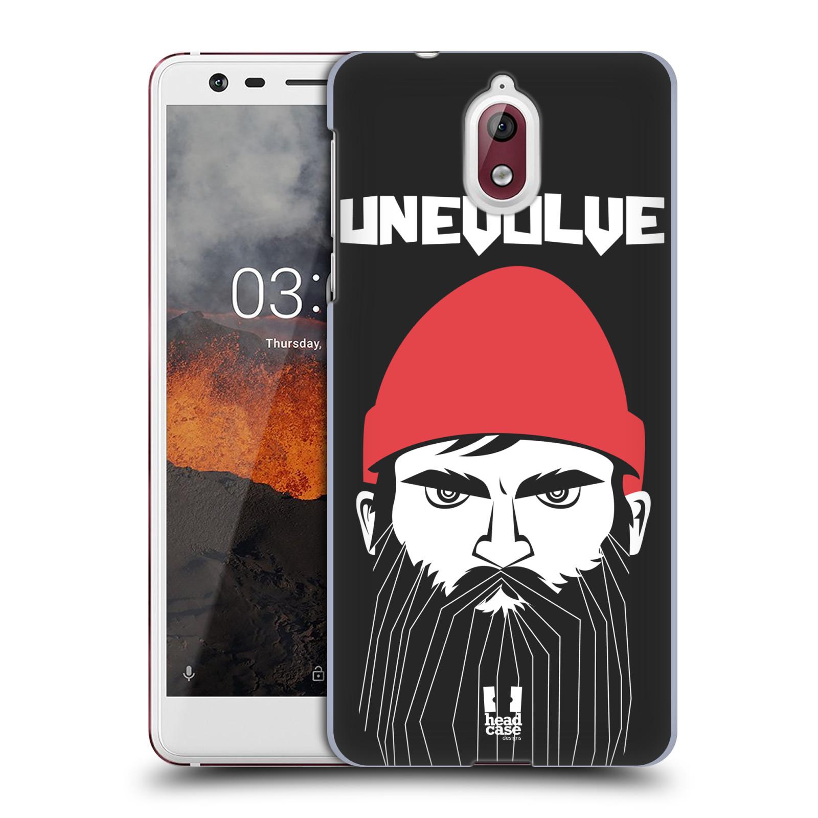 Plastové pouzdro na mobil Nokia 3.1 - Head Case - KNÍRAČ UNEVOLVE