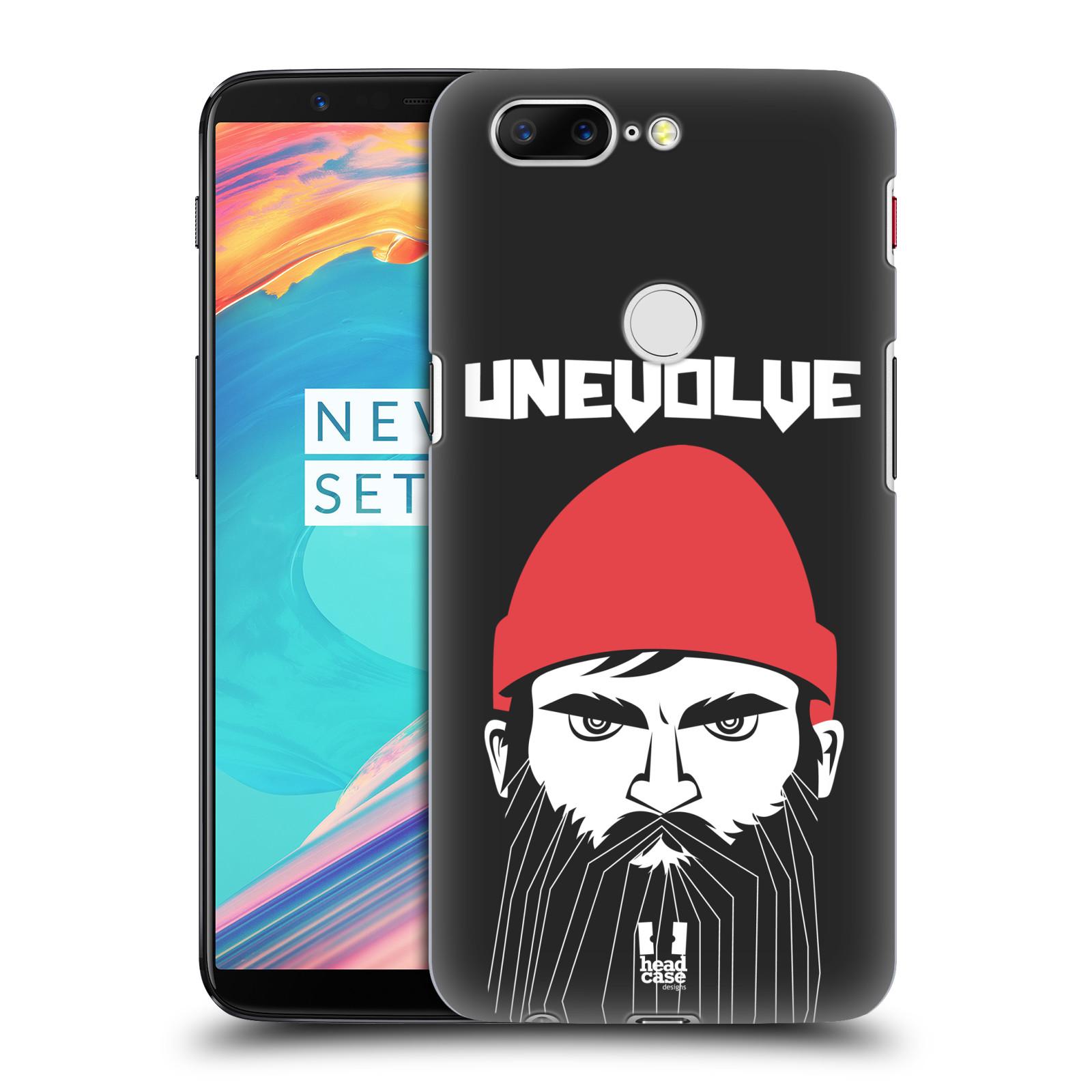 Plastové pouzdro na mobil OnePlus 5T - Head Case - KNÍRAČ UNEVOLVE
