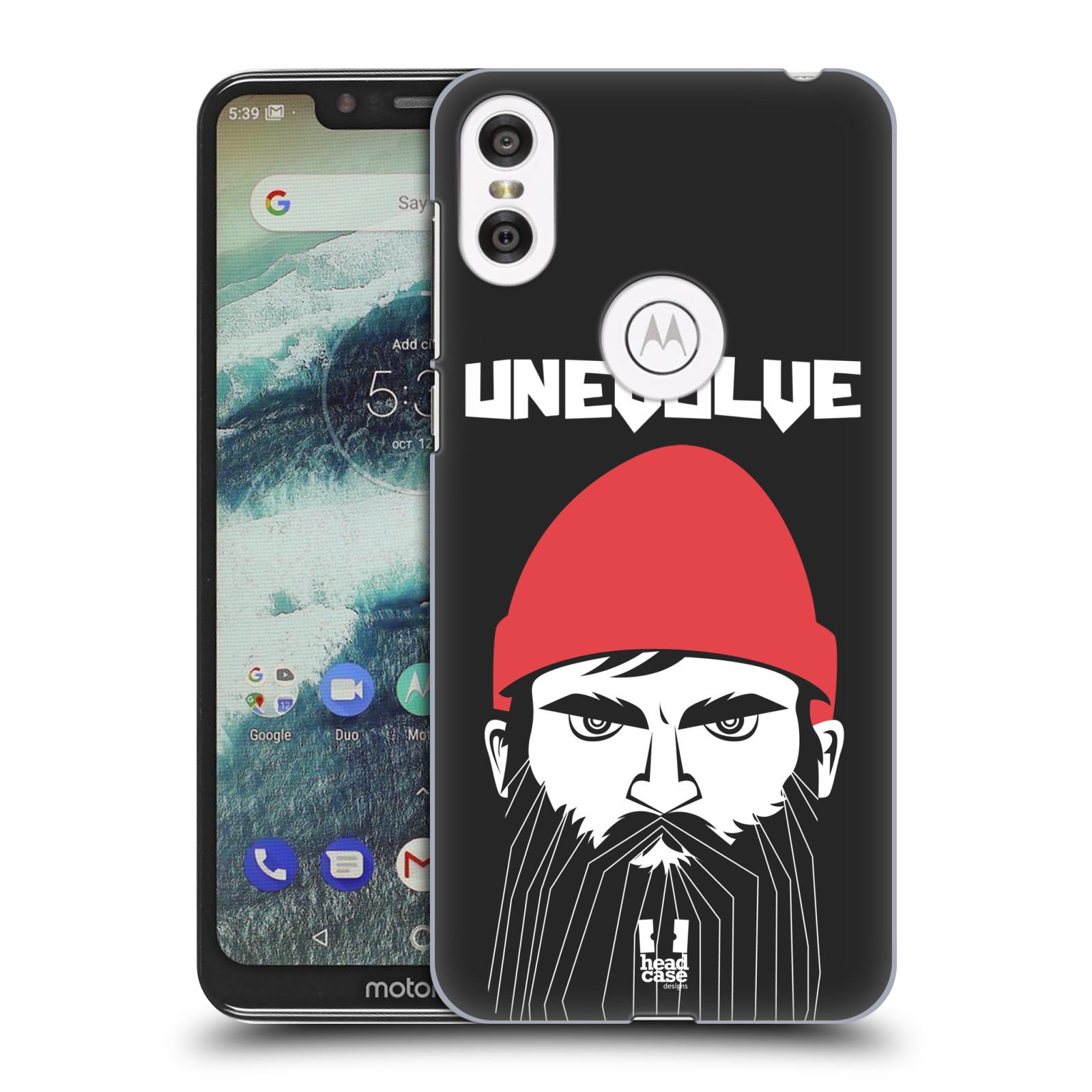 Plastové pouzdro na mobil Motorola One - Head Case - KNÍRAČ UNEVOLVE