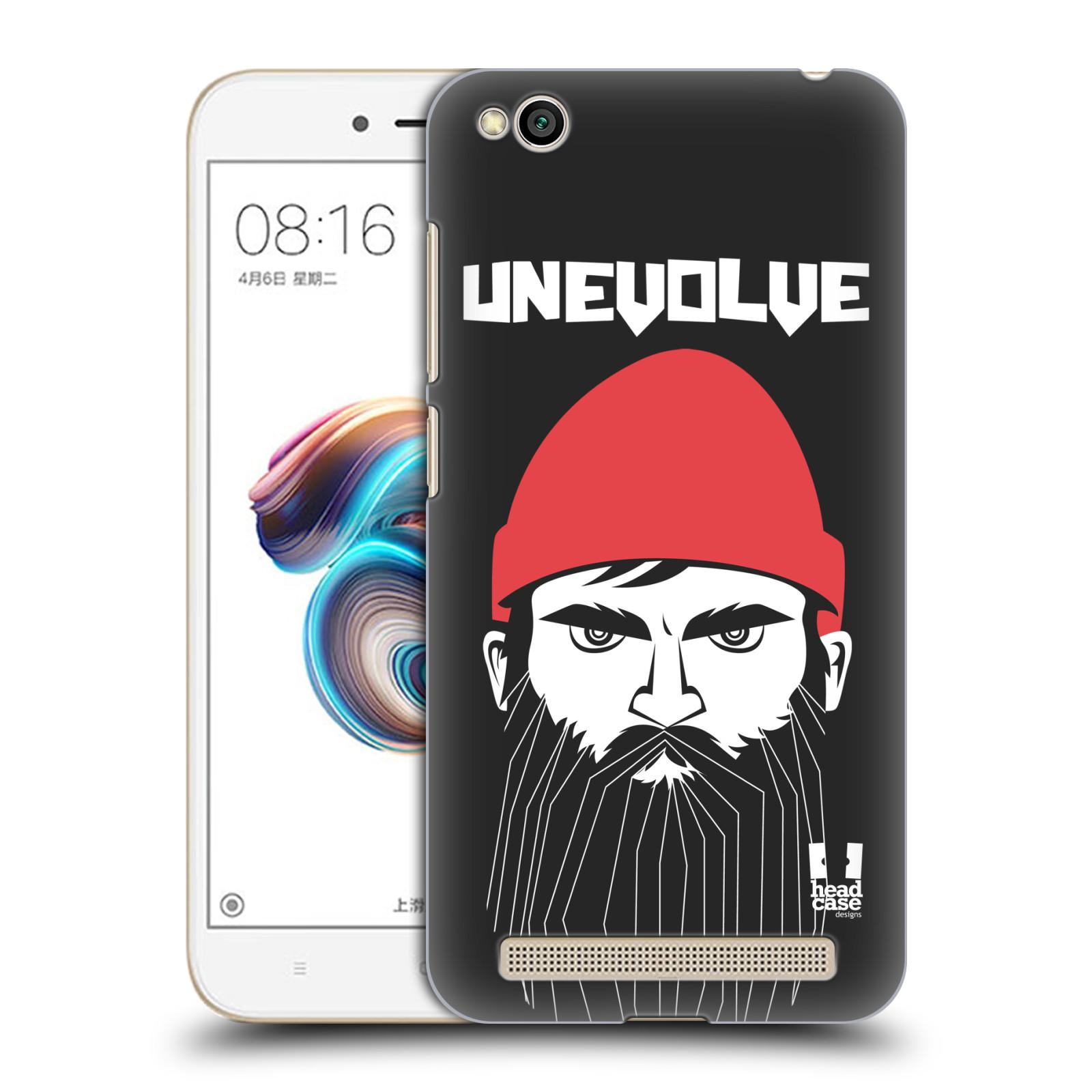 Plastové pouzdro na mobil Xiaomi Redmi 5A - Head Case - KNÍRAČ UNEVOLVE