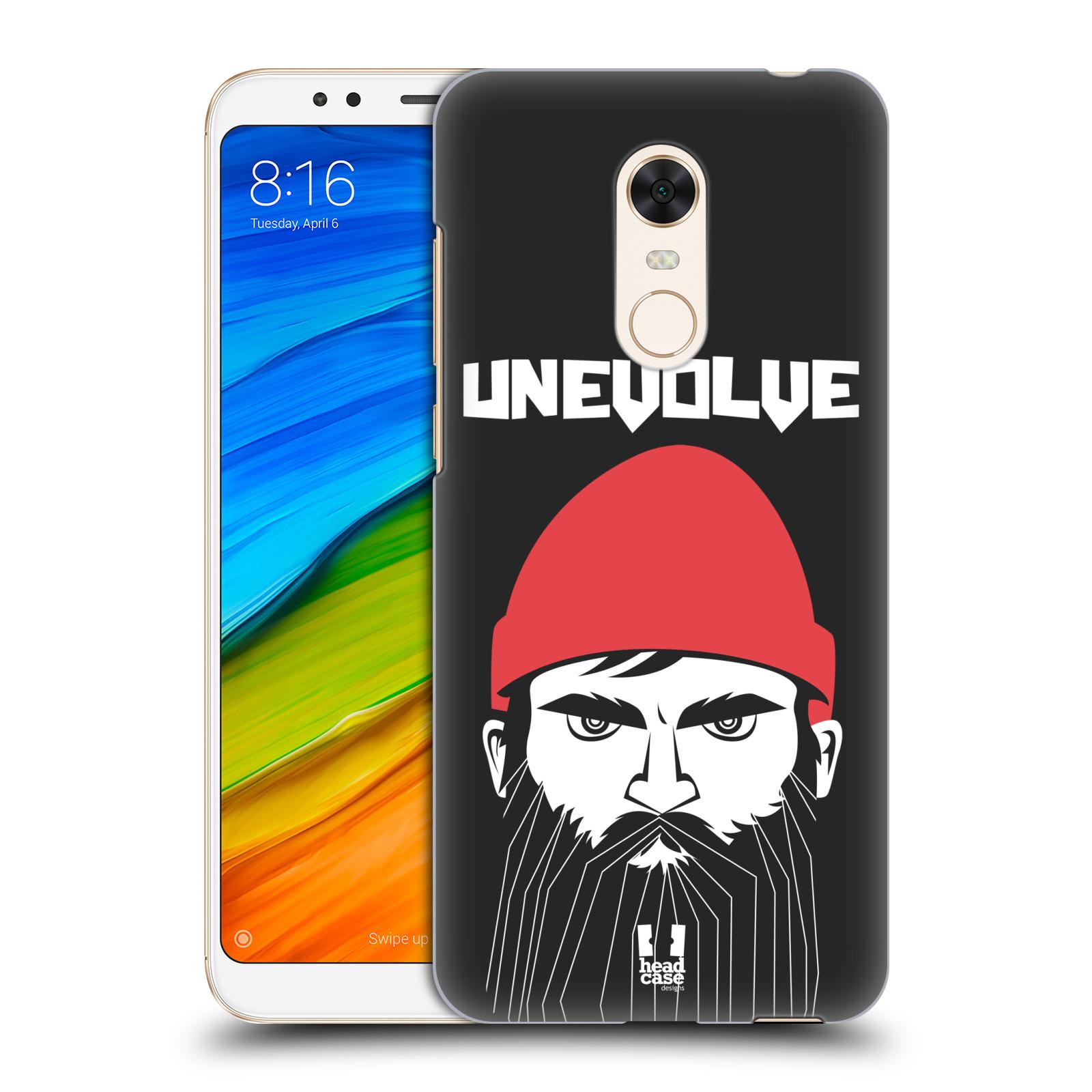 Plastové pouzdro na mobil Xiaomi Redmi 5 Plus - Head Case - KNÍRAČ UNEVOLVE