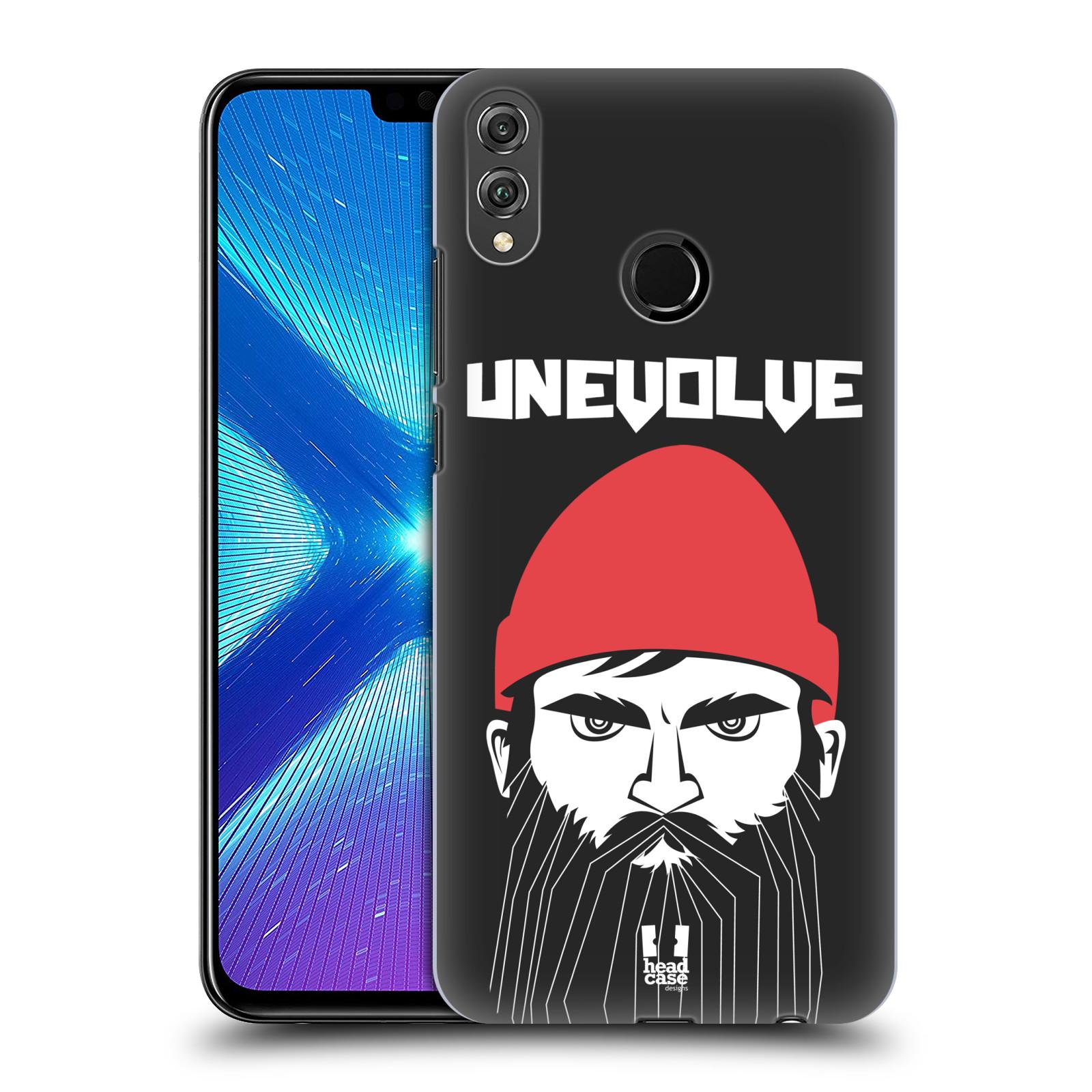 Plastové pouzdro na mobil Honor 8X - Head Case - KNÍRAČ UNEVOLVE