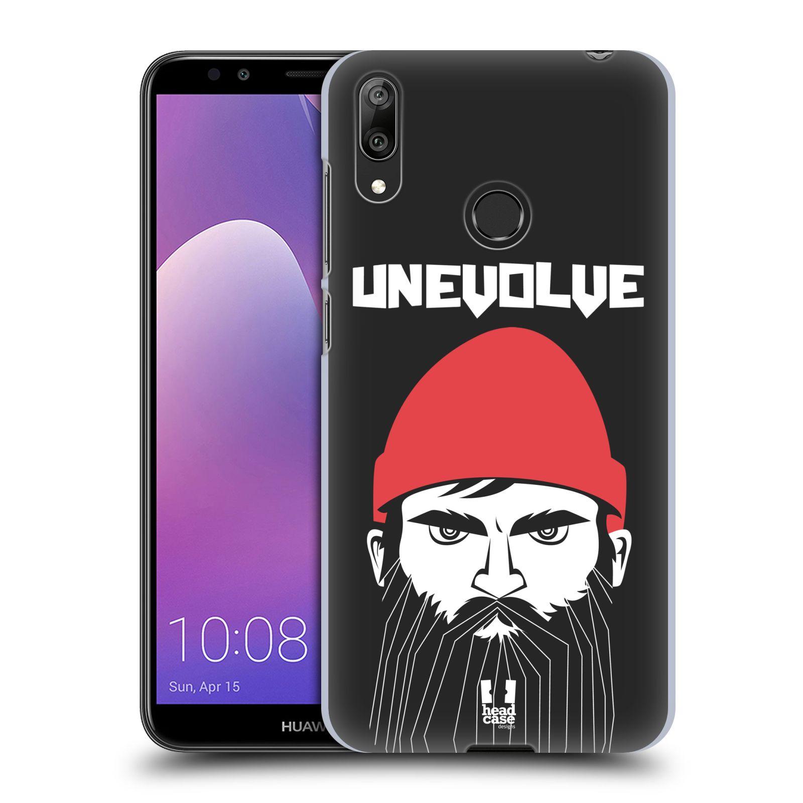 Plastové pouzdro na mobil Huawei Y7 (2019) - Head Case - KNÍRAČ UNEVOLVE