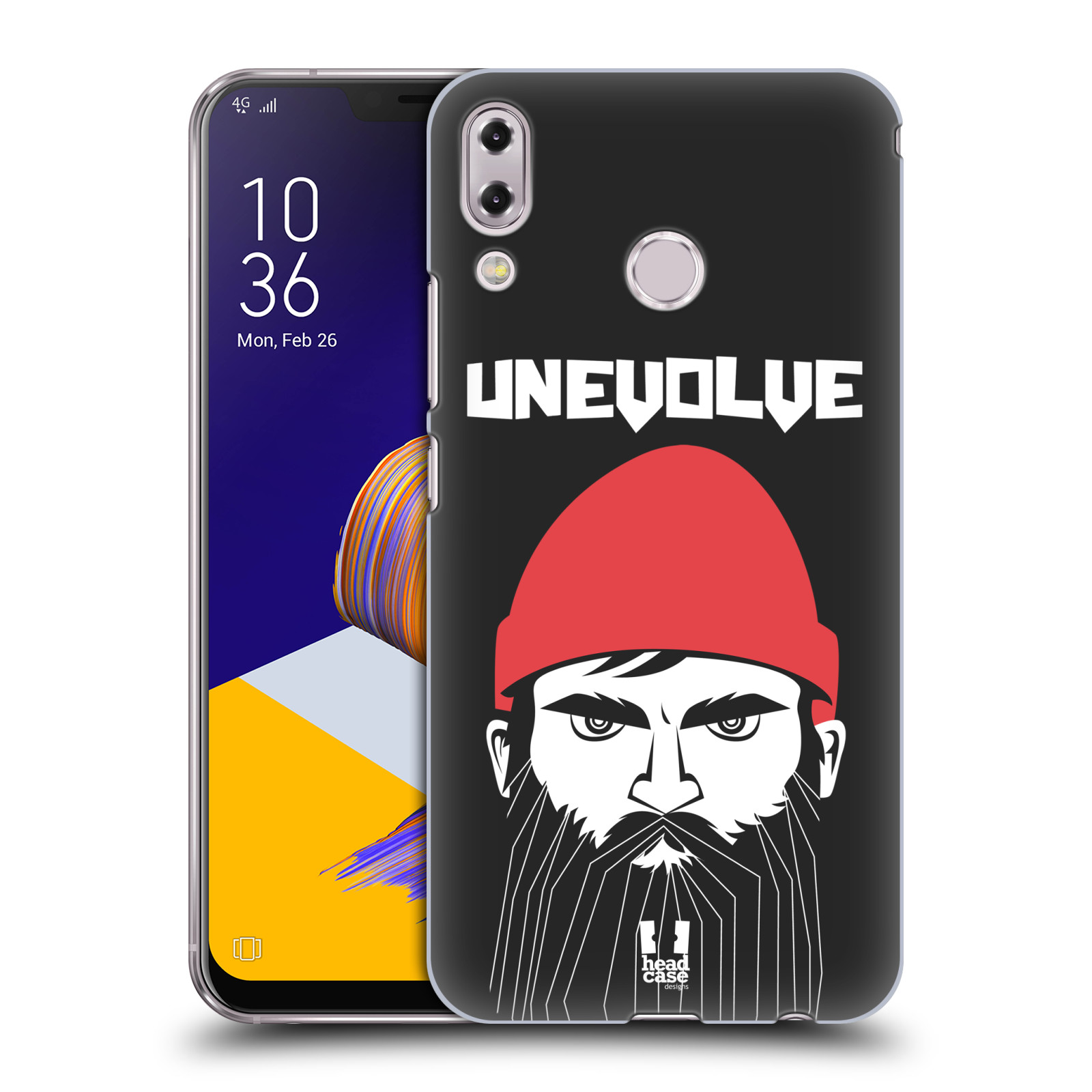 Plastové pouzdro na mobil Asus Zenfone 5z ZS620KL - Head Case - KNÍRAČ UNEVOLVE