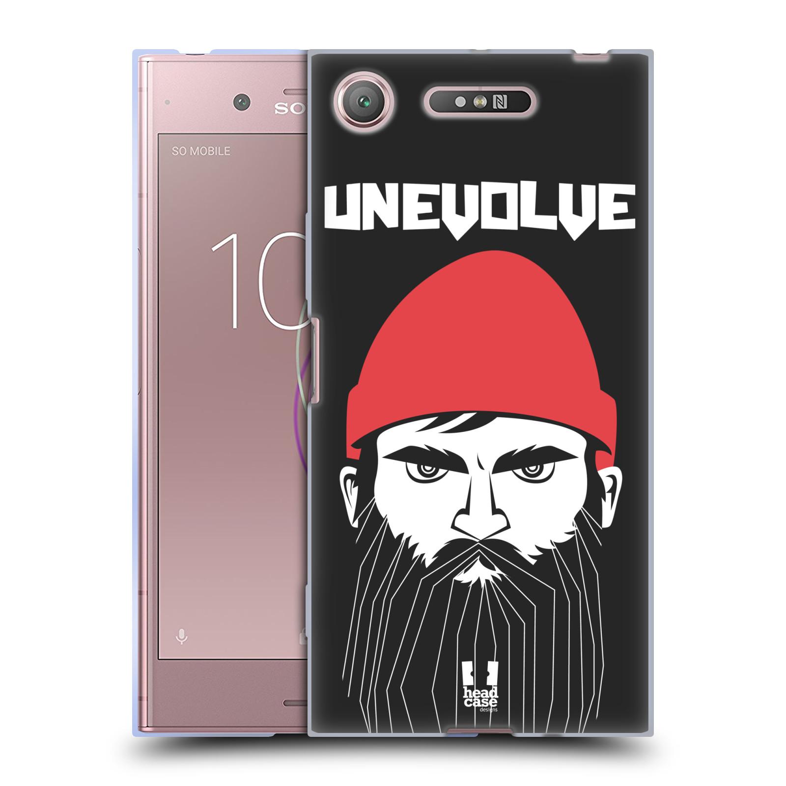 Silikonové pouzdro na mobil Sony Xperia XZ1 - Head Case - KNÍRAČ UNEVOLVE