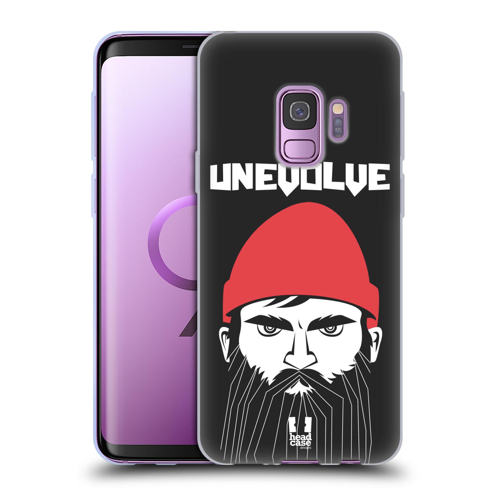 Silikonové pouzdro na mobil Samsung Galaxy S9 - Head Case - KNÍRAČ UNEVOLVE