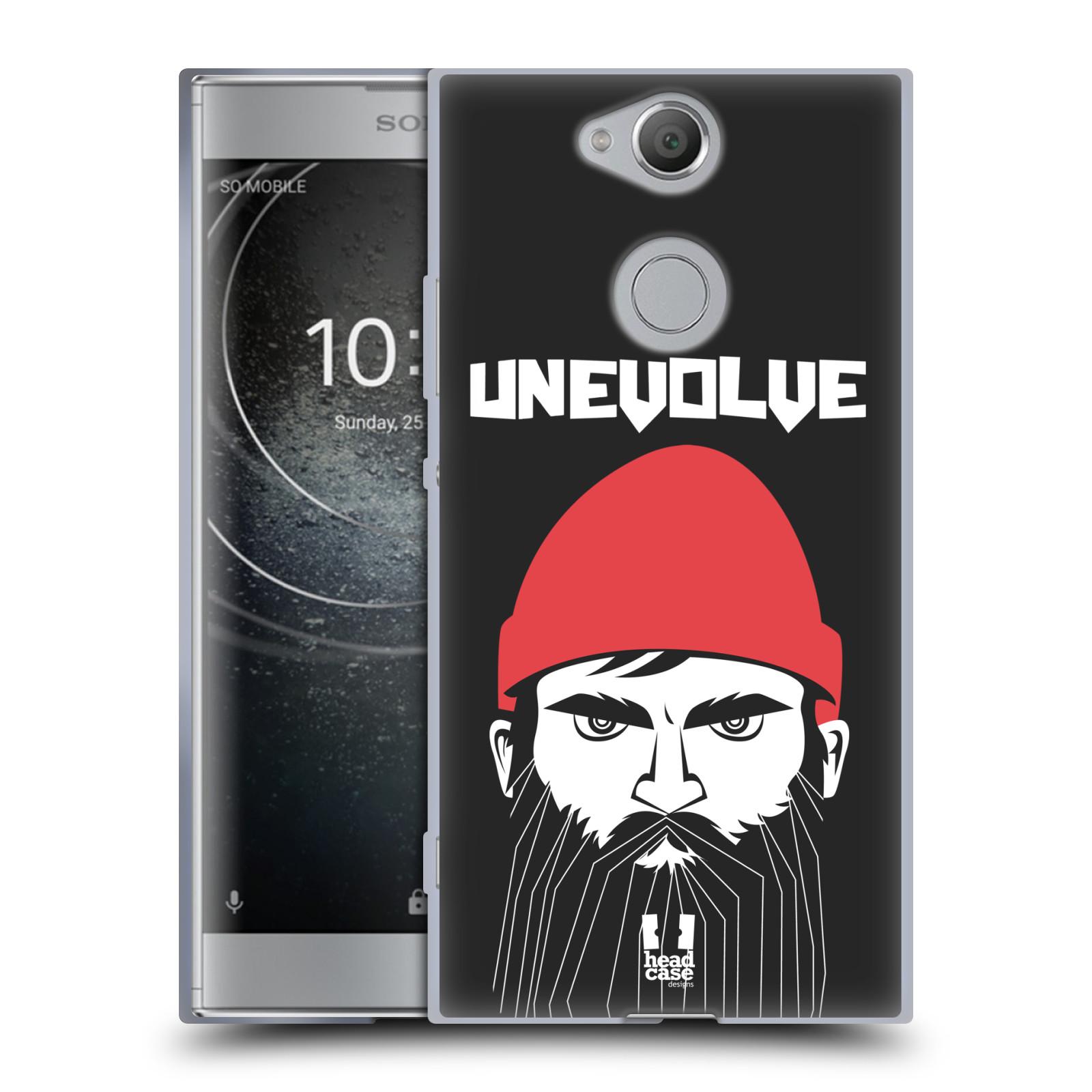 Silikonové pouzdro na mobil Sony Xperia XA2 - Head Case - KNÍRAČ UNEVOLVE