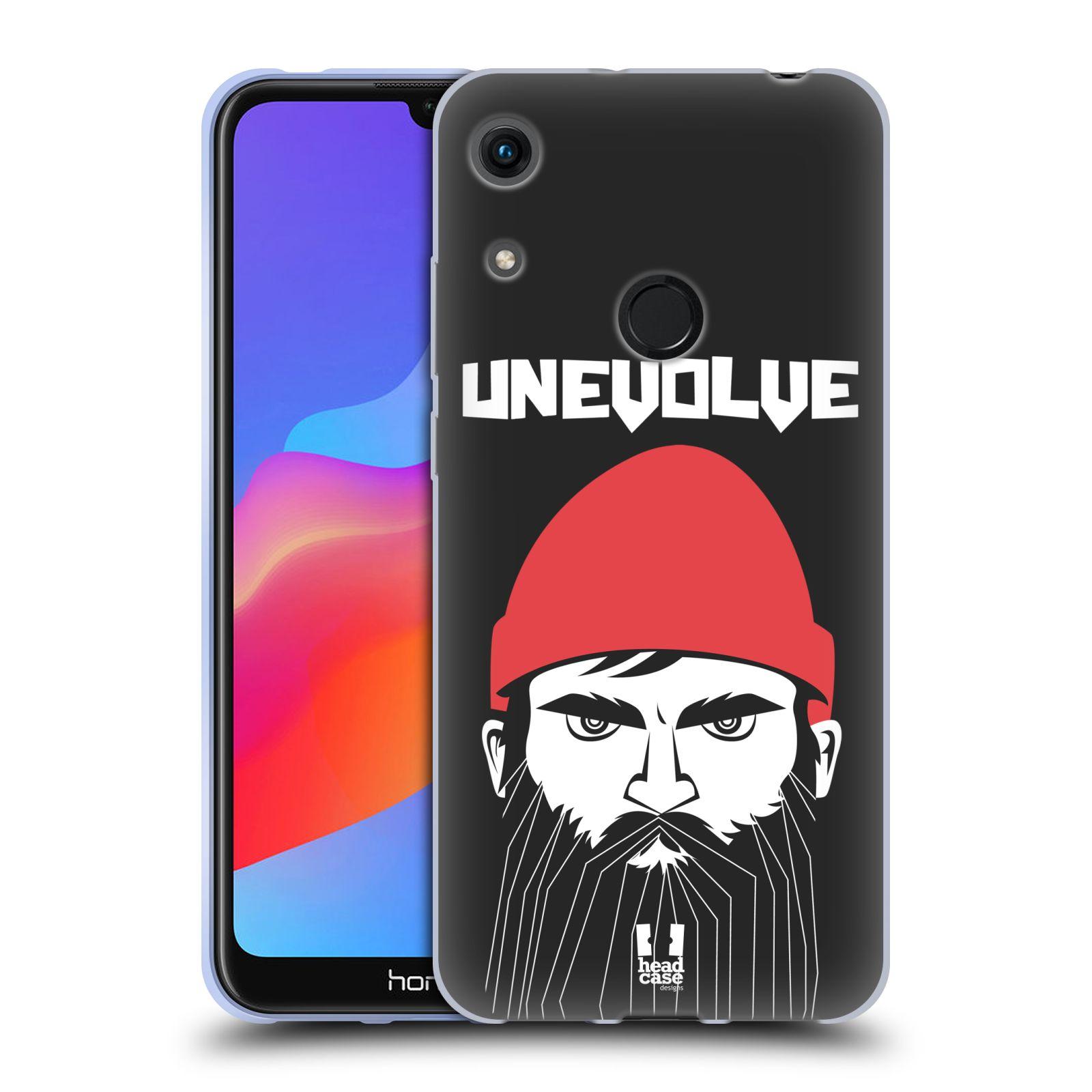 Silikonové pouzdro na mobil Honor 8A - Head Case - KNÍRAČ UNEVOLVE