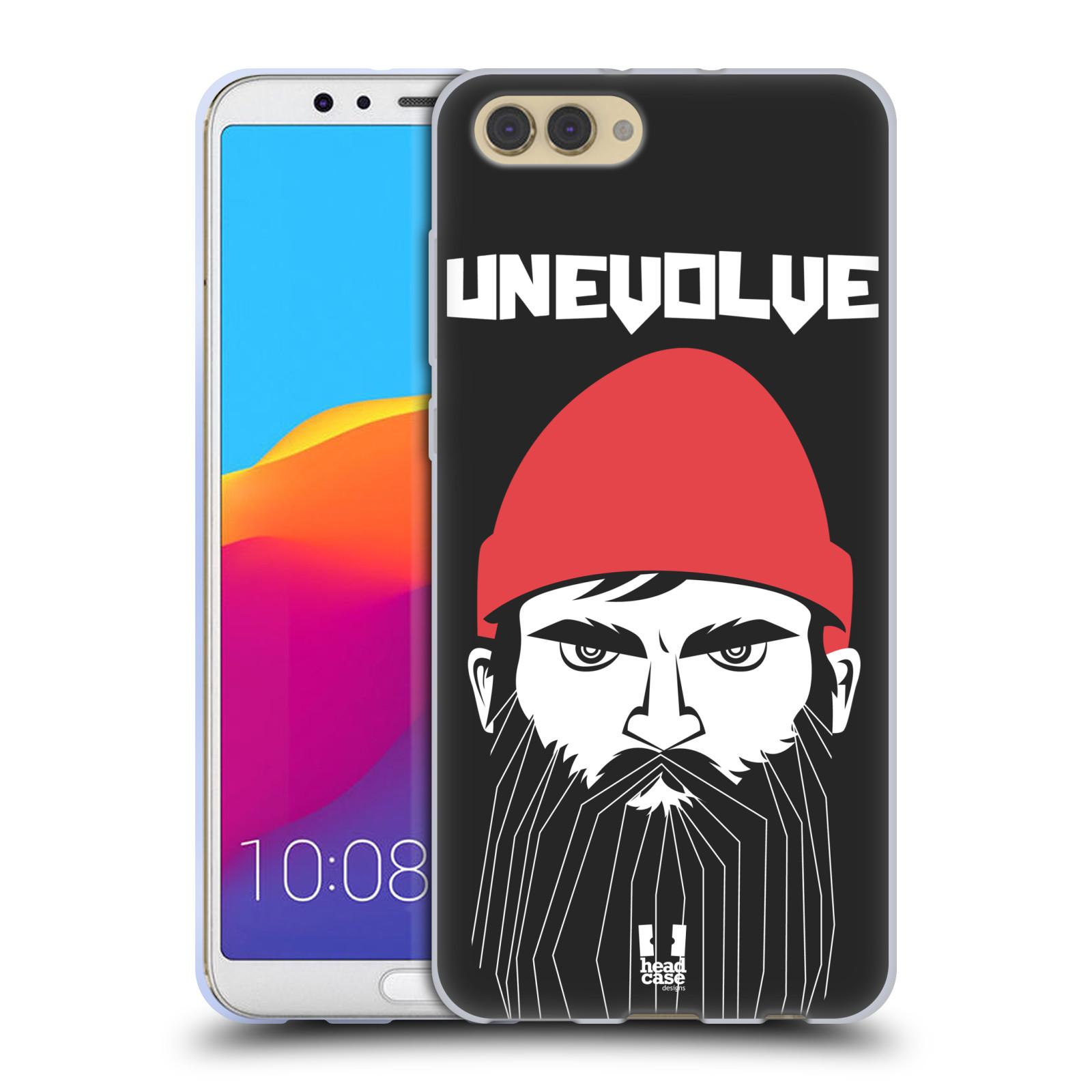 Silikonové pouzdro na mobil Honor View 10 - Head Case - KNÍRAČ UNEVOLVE
