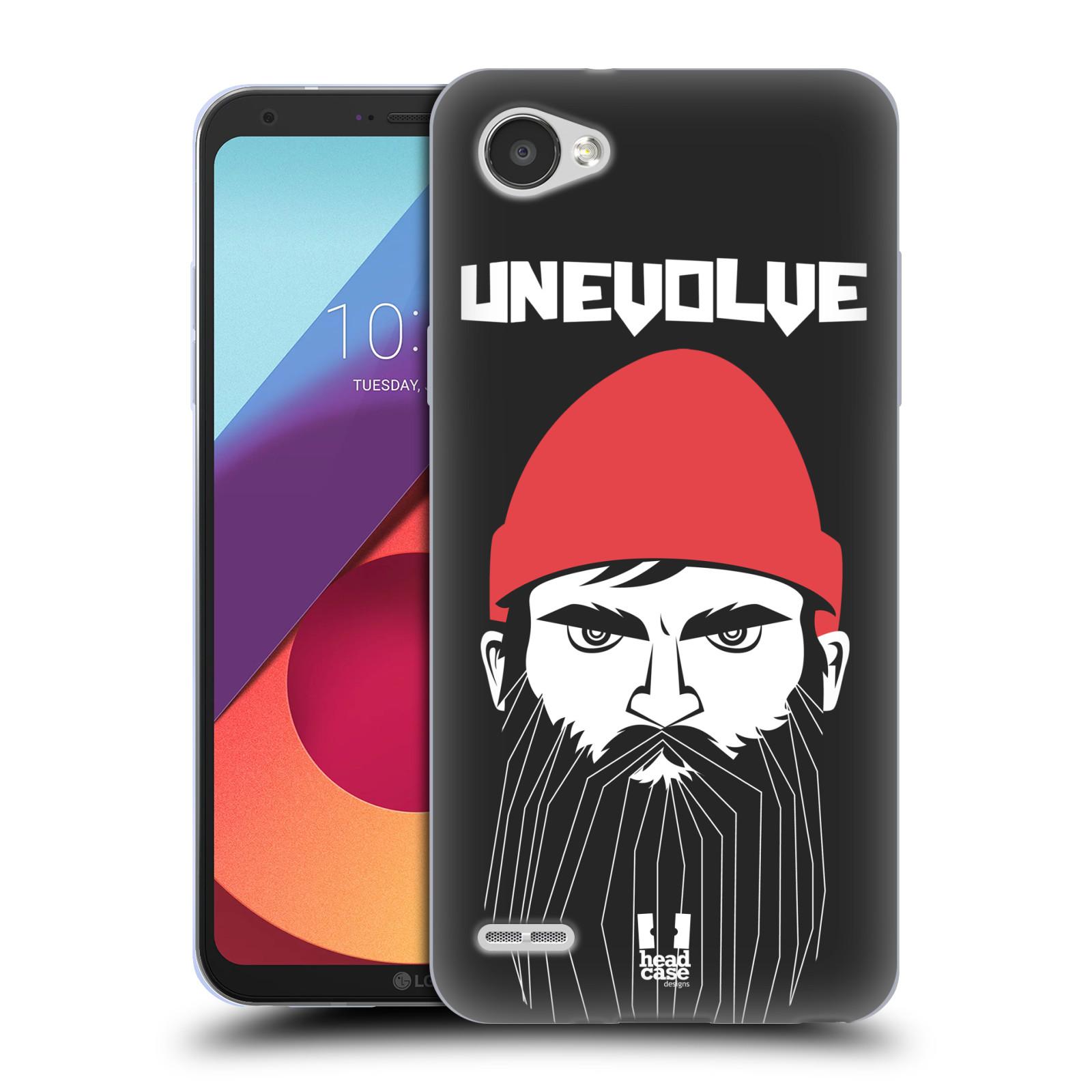 Silikonové pouzdro na mobil LG Q6 - Head Case - KNÍRAČ UNEVOLVE