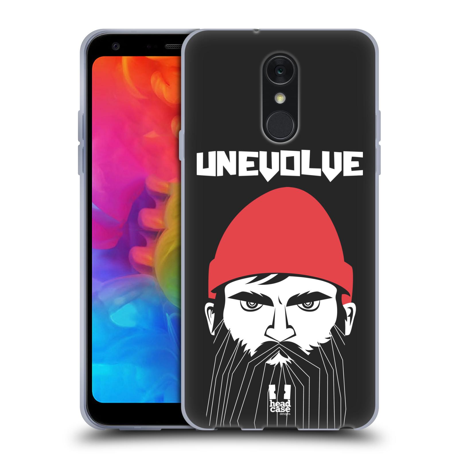 Silikonové pouzdro na mobil LG Q7 - Head Case - KNÍRAČ UNEVOLVE