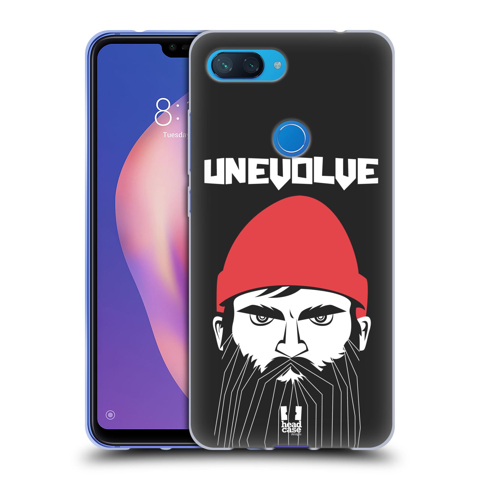 Silikonové pouzdro na mobil Xiaomi Mi 8 Lite - Head Case - KNÍRAČ UNEVOLVE