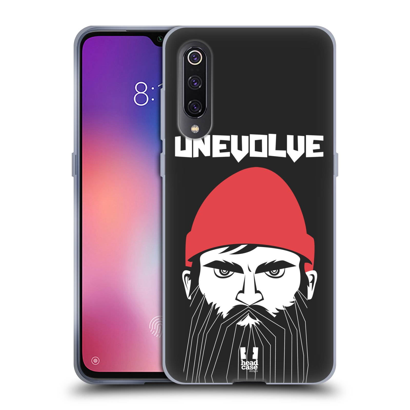 Silikonové pouzdro na mobil Xiaomi Mi 9 - Head Case - KNÍRAČ UNEVOLVE