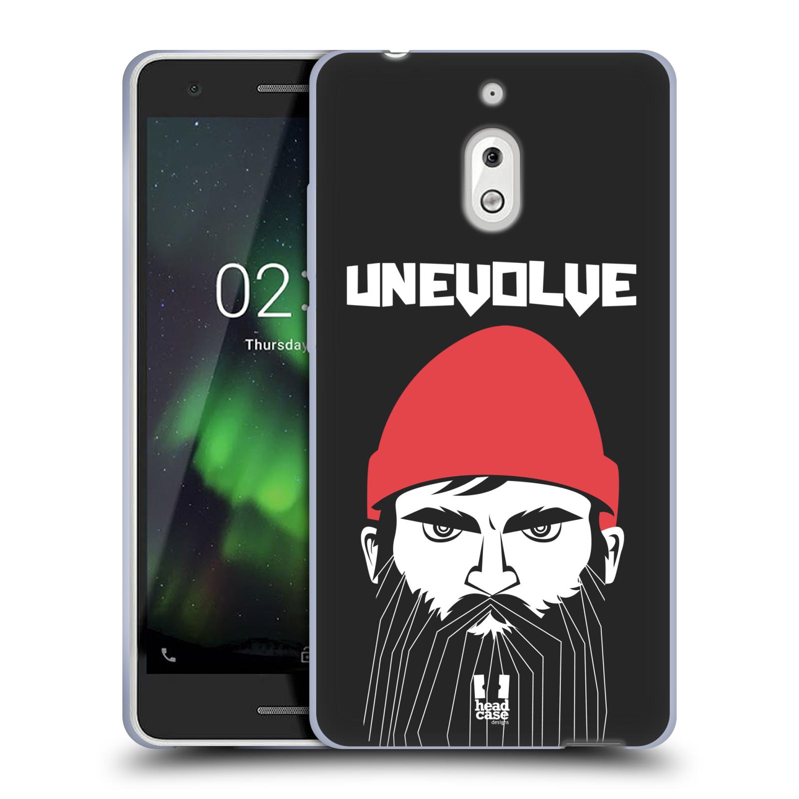 Silikonové pouzdro na mobil Nokia 2.1 - Head Case - KNÍRAČ UNEVOLVE
