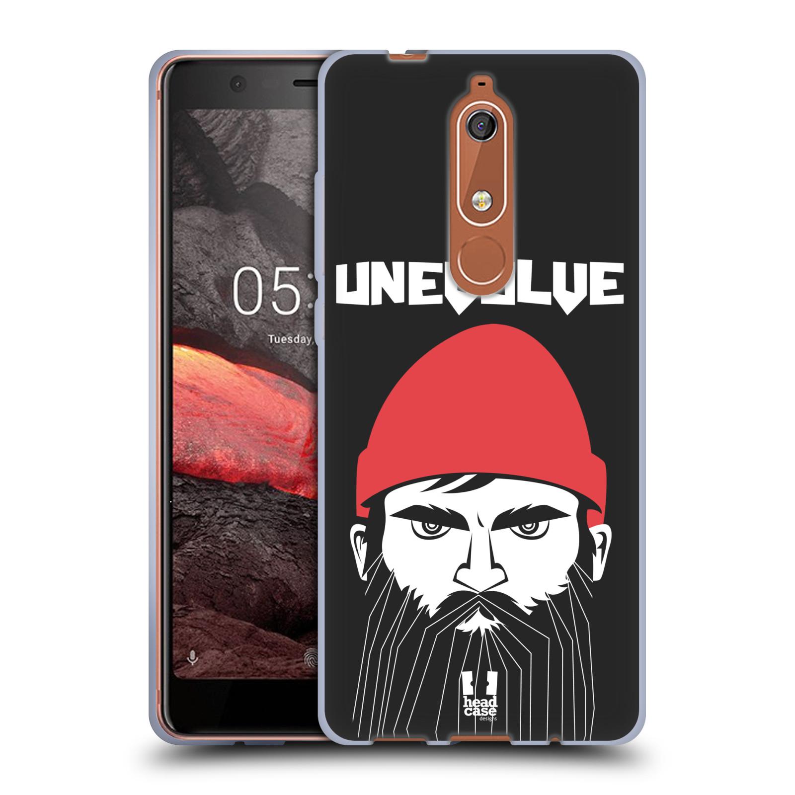Silikonové pouzdro na mobil Nokia 5.1 - Head Case - KNÍRAČ UNEVOLVE