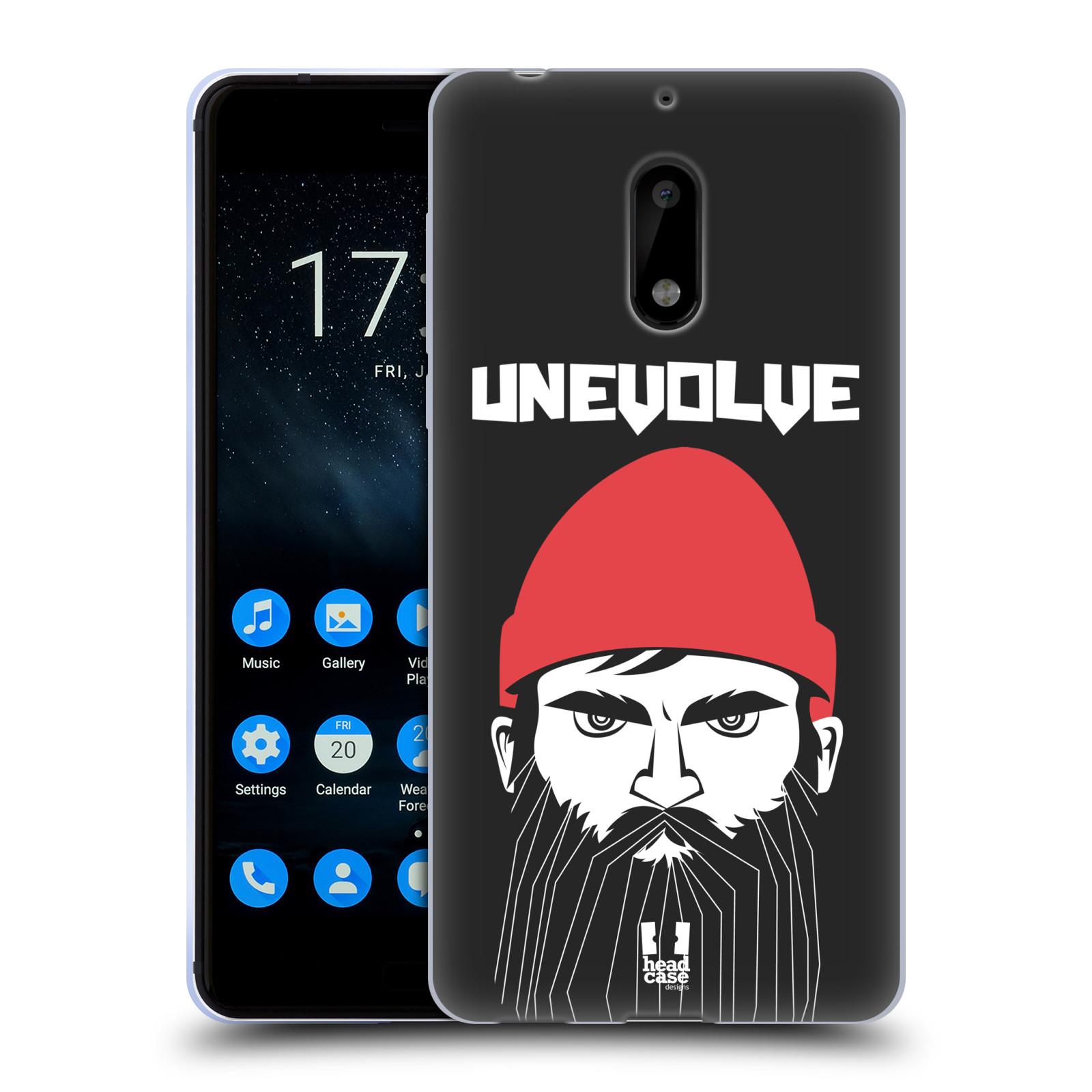 Silikonové pouzdro na mobil Nokia 6 - Head Case - KNÍRAČ UNEVOLVE