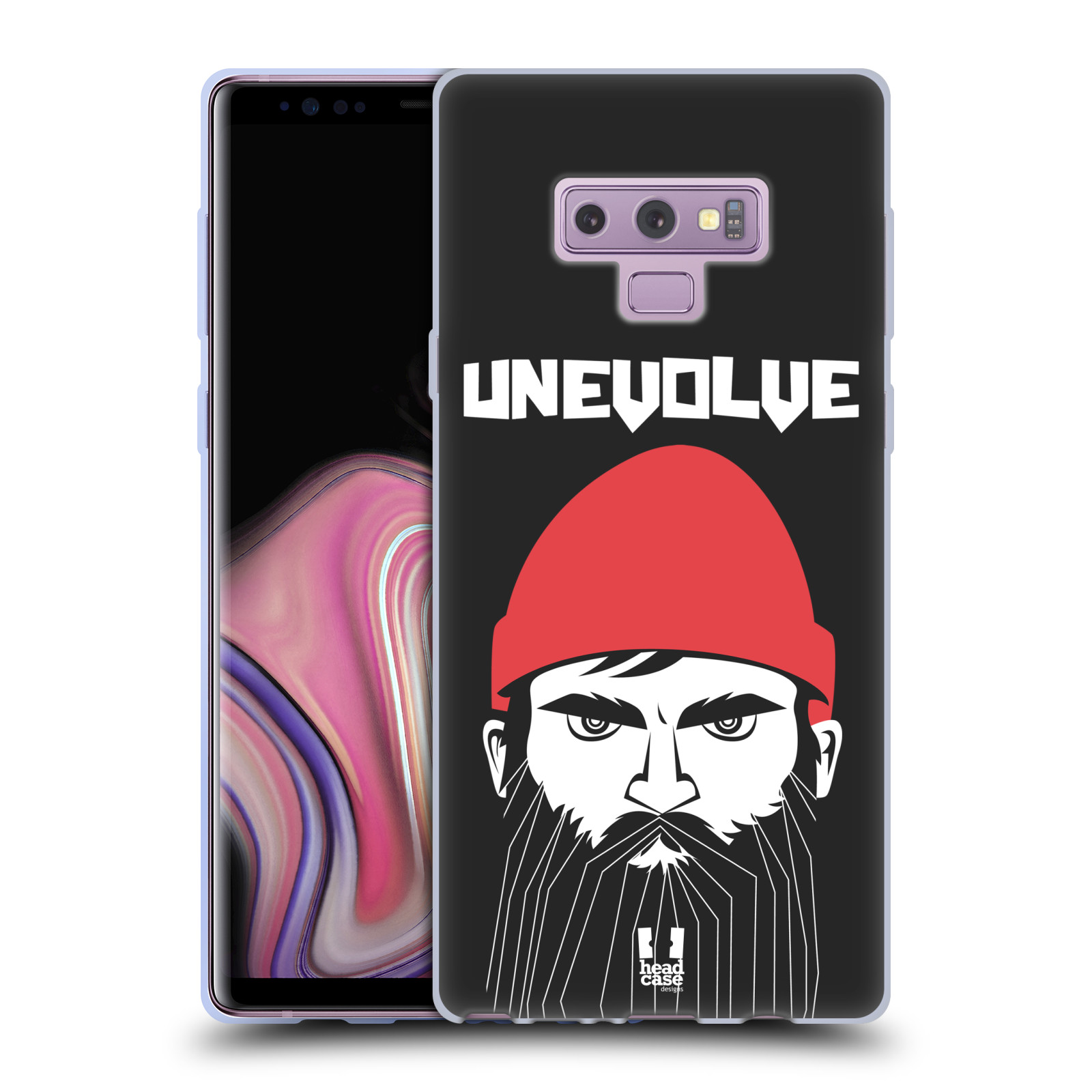 Silikonové pouzdro na mobil Samsung Galaxy Note 9 - Head Case - KNÍRAČ UNEVOLVE