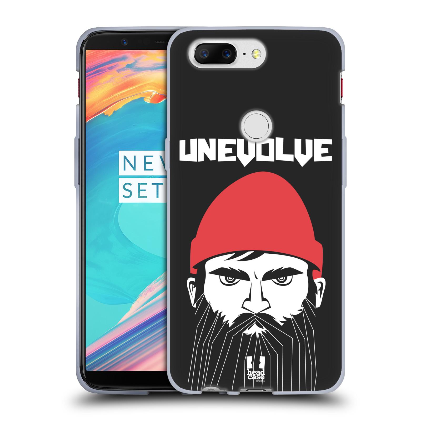 Silikonové pouzdro na mobil OnePlus 5T - Head Case - KNÍRAČ UNEVOLVE