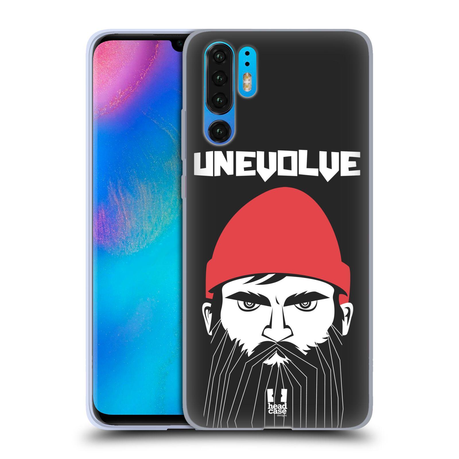 Silikonové pouzdro na mobil Huawei P30 Pro - Head Case - KNÍRAČ UNEVOLVE