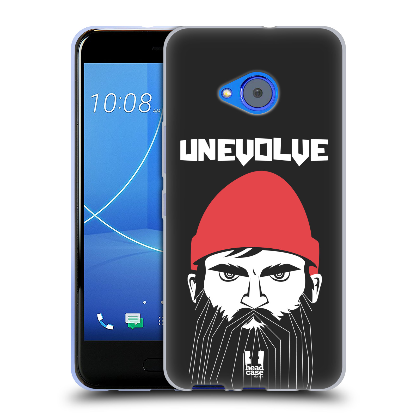 Silikonové pouzdro na mobil HTC U11 Life - Head Case - KNÍRAČ UNEVOLVE