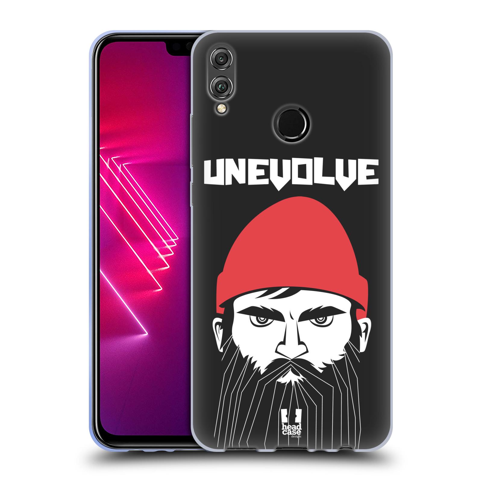 Silikonové pouzdro na mobil Honor View 10 Lite - Head Case - KNÍRAČ UNEVOLVE
