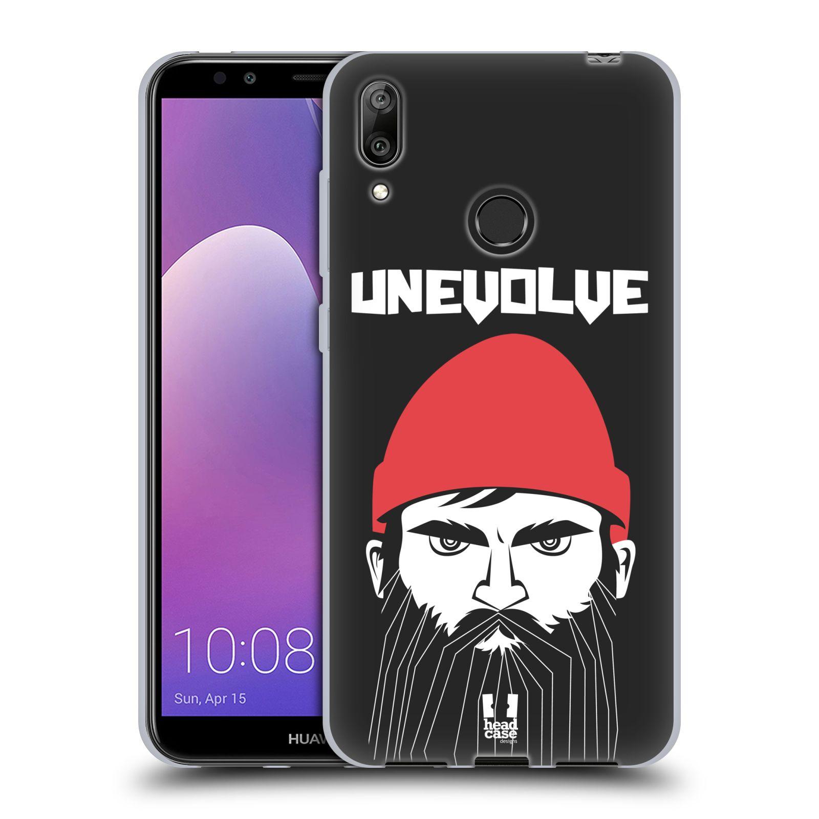Silikonové pouzdro na mobil Huawei Y7 (2019) - Head Case - KNÍRAČ UNEVOLVE