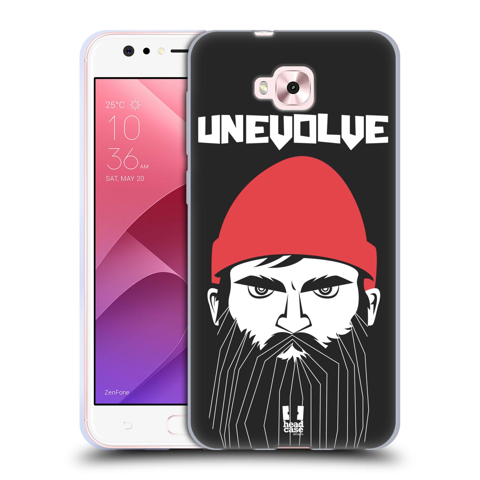 Silikonové pouzdro na mobil Asus Zenfone 4 Selfie ZD553KL - Head Case - KNÍRAČ UNEVOLVE