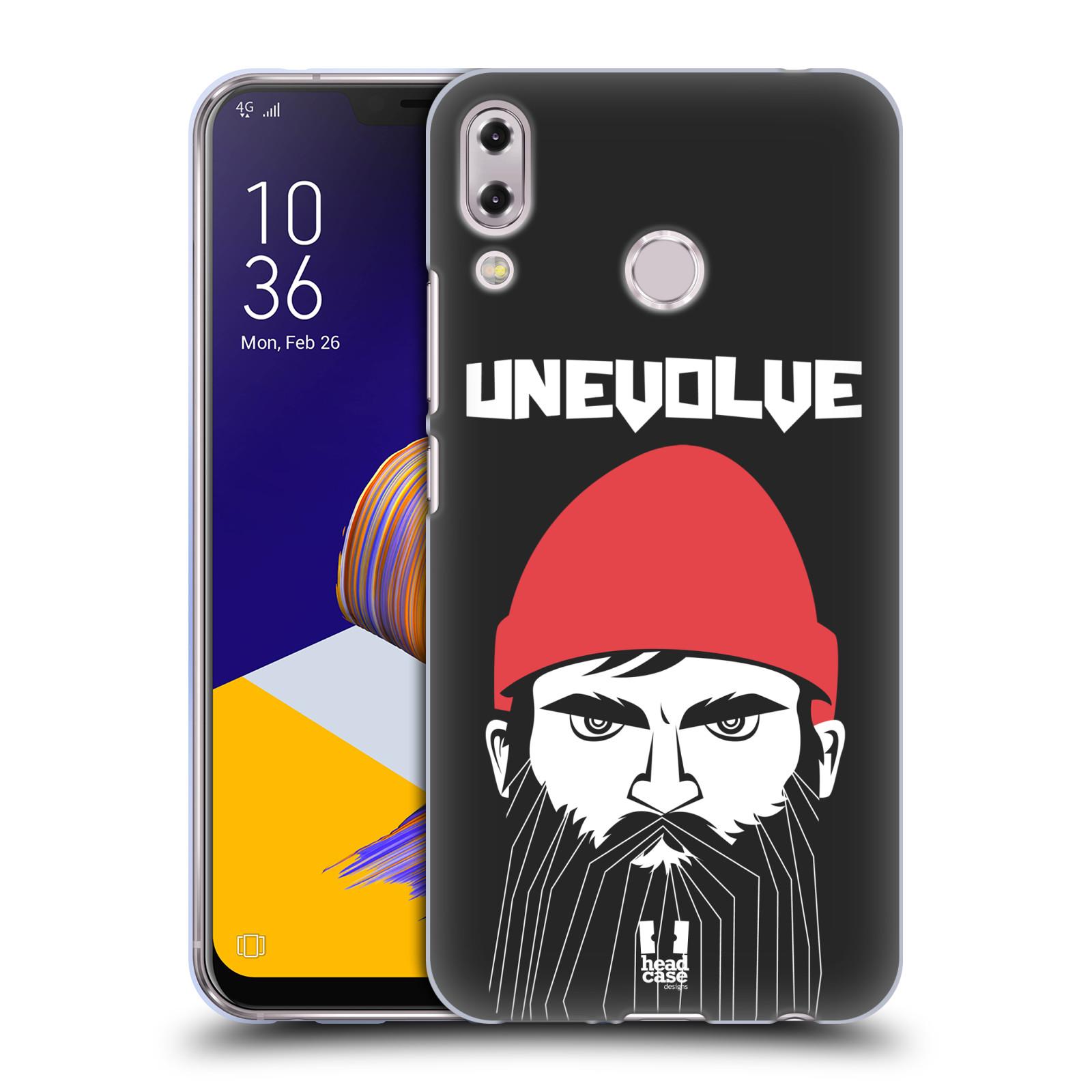 Silikonové pouzdro na mobil Asus Zenfone 5z ZS620KL - Head Case - KNÍRAČ UNEVOLVE