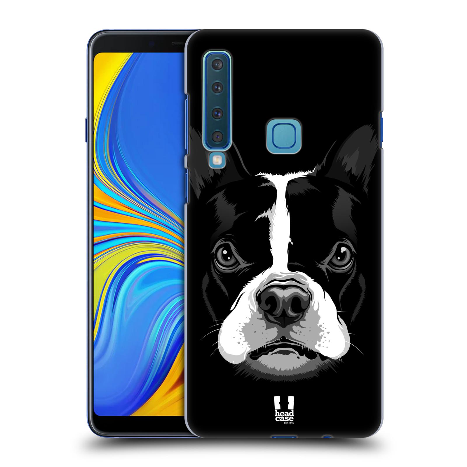 Plastové pouzdro na mobil Samsung Galaxy A9 (2018) - Head Case - ILUSTROVANÝ BULDOČEK
