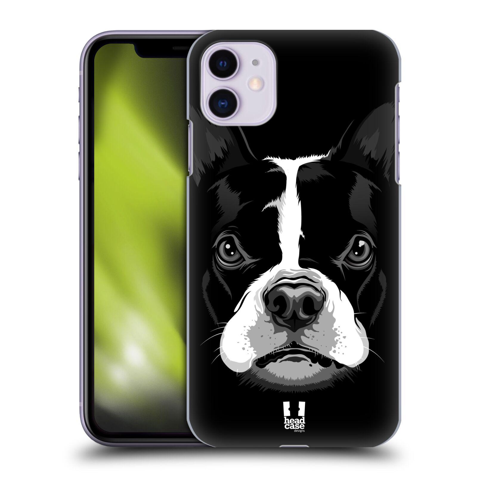 Plastové pouzdro na mobil Apple iPhone 11 - Head Case - ILUSTROVANÝ BULDOČEK