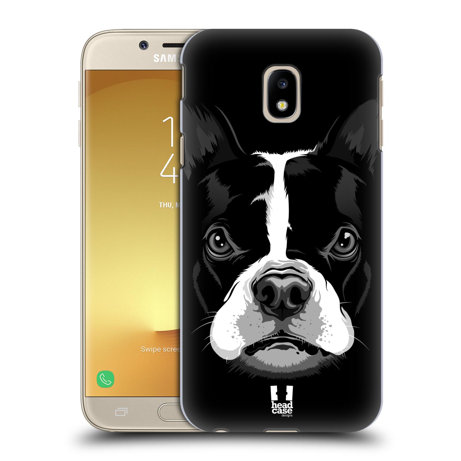 Plastové pouzdro na mobil Samsung Galaxy J3 (2017) - Head Case - ILUSTROVANÝ BULDOČEK