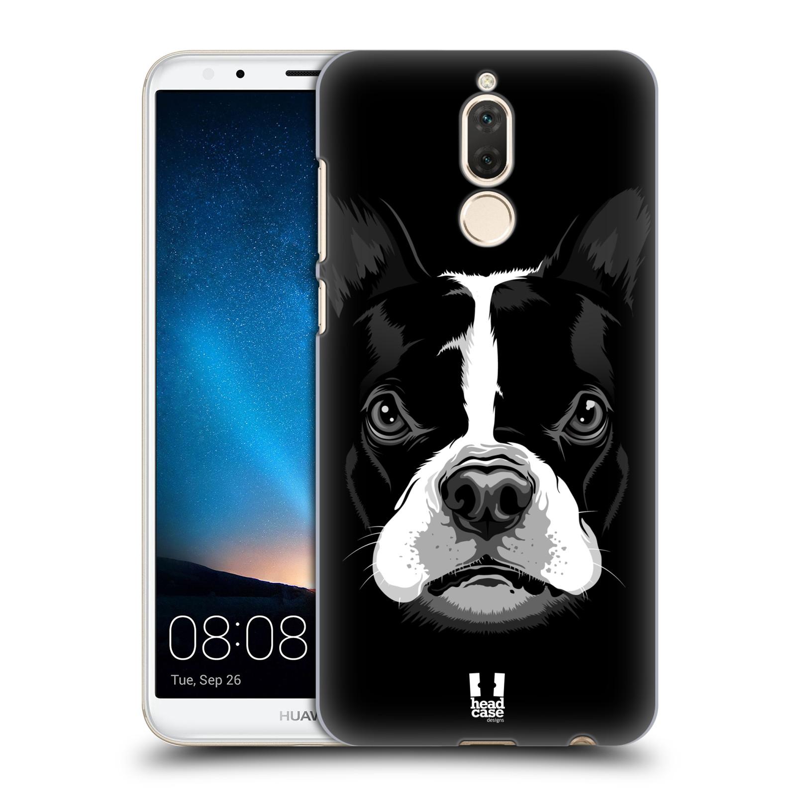 Plastové pouzdro na mobil Huawei Mate 10 Lite - Head Case - ILUSTROVANÝ BULDOČEK