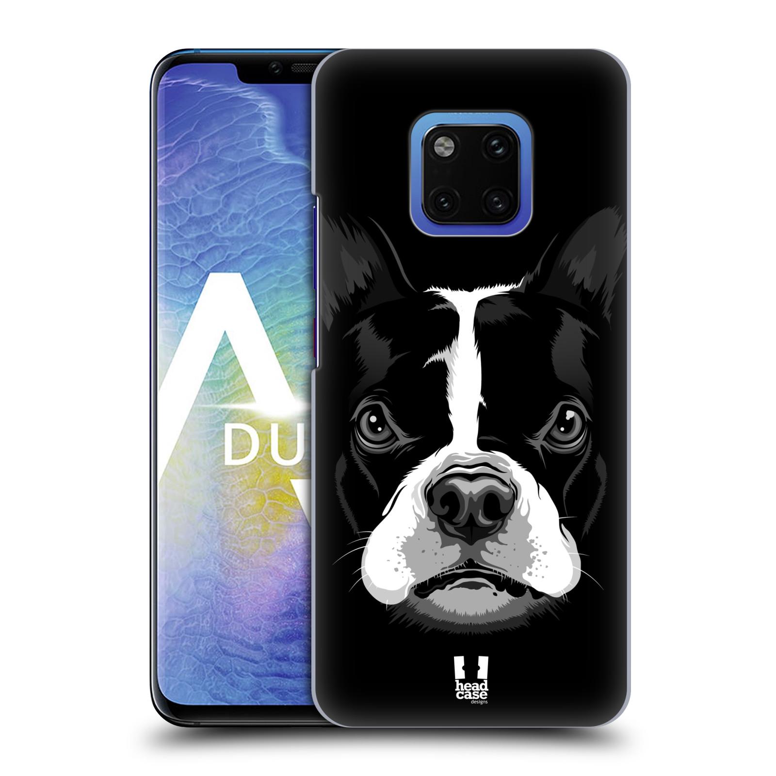 Plastové pouzdro na mobil Huawei Mate 20 Pro - Head Case - ILUSTROVANÝ BULDOČEK