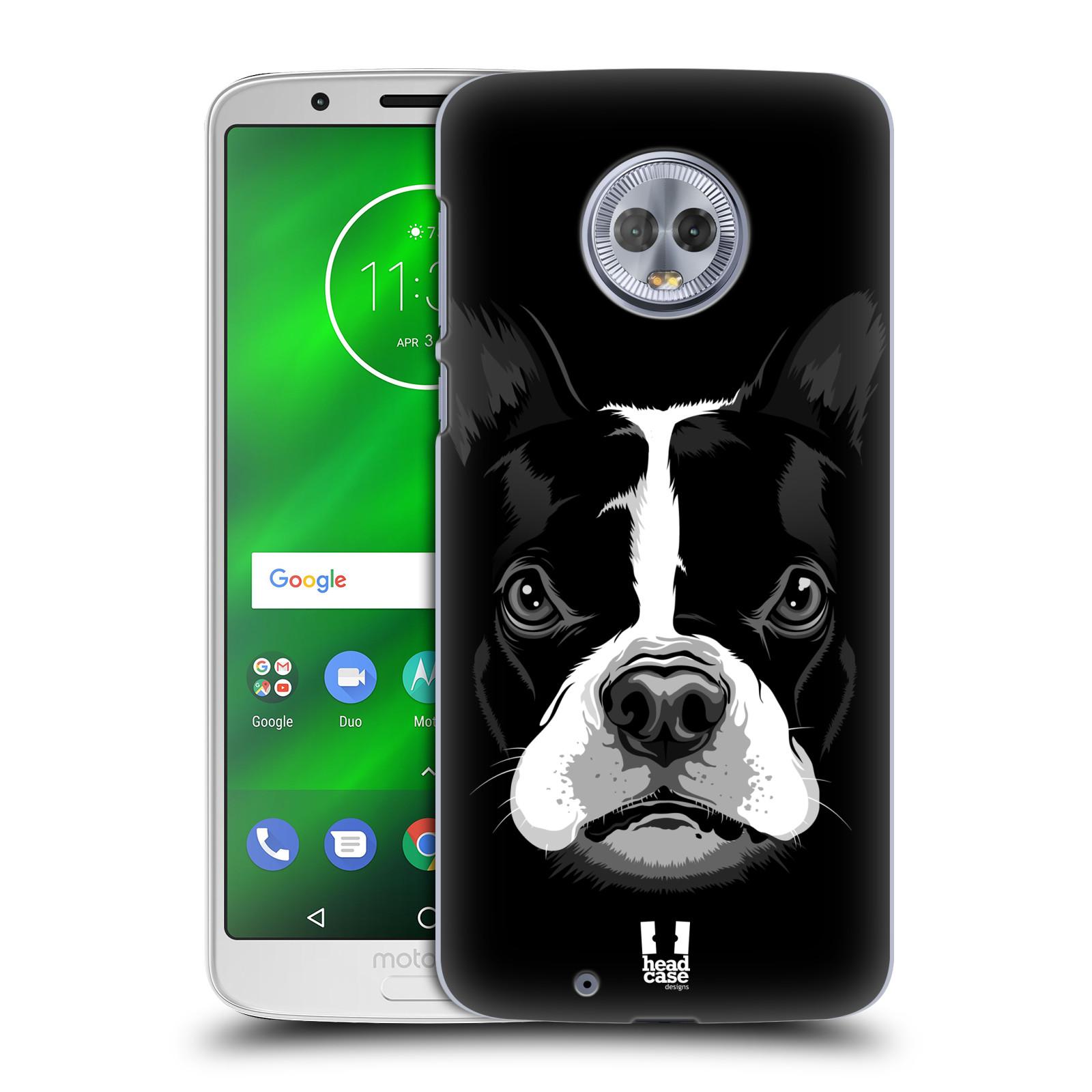 Plastové pouzdro na mobil Motorola Moto G6 - Head Case - ILUSTROVANÝ BULDOČEK
