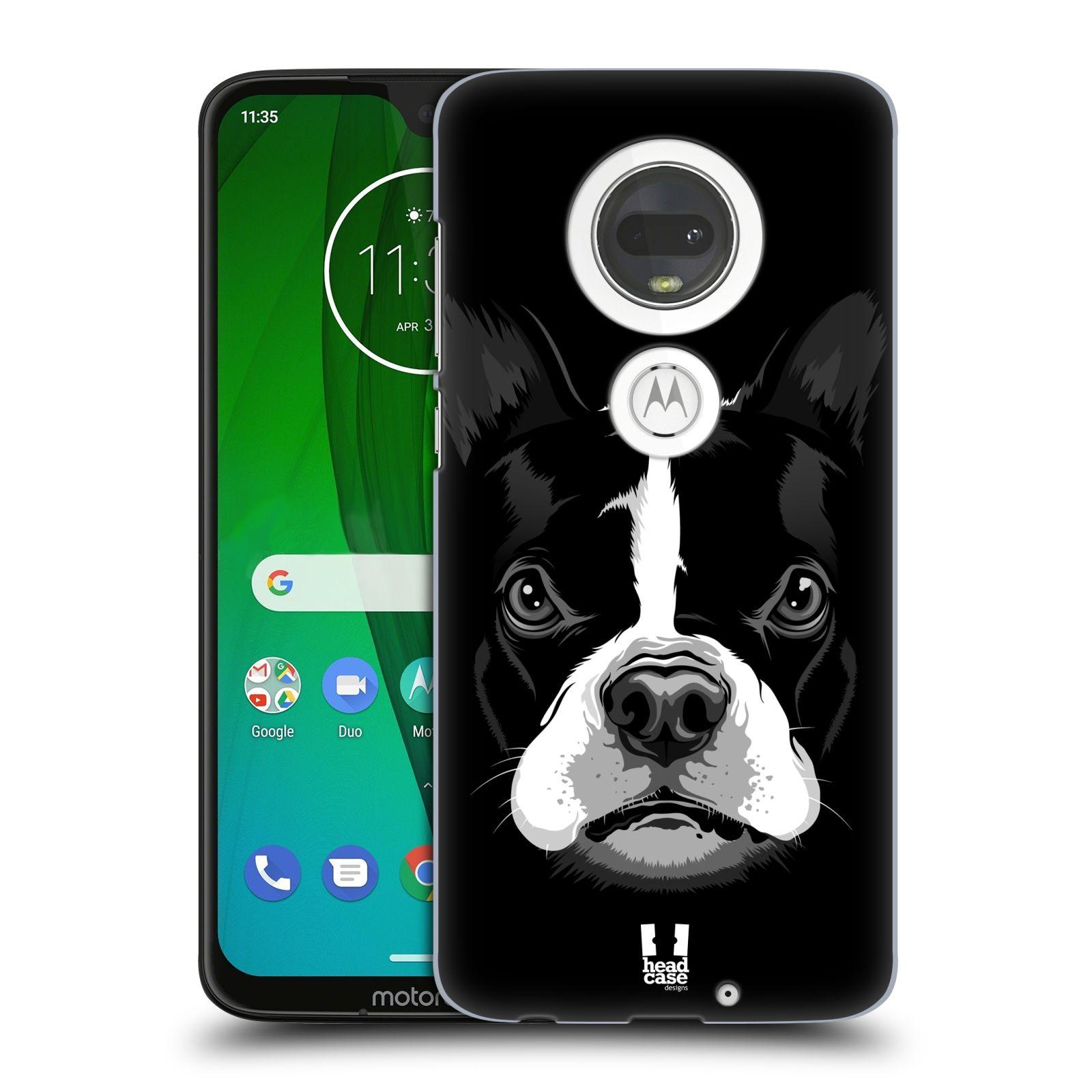 Plastové pouzdro na mobil Motorola Moto G7 - Head Case - ILUSTROVANÝ BULDOČEK