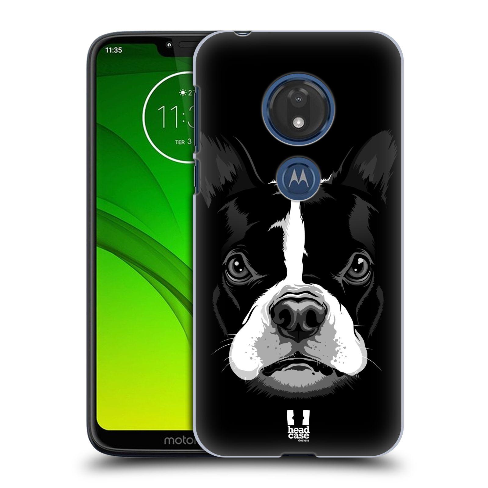 Plastové pouzdro na mobil Motorola Moto G7 Play - Head Case - ILUSTROVANÝ BULDOČEK