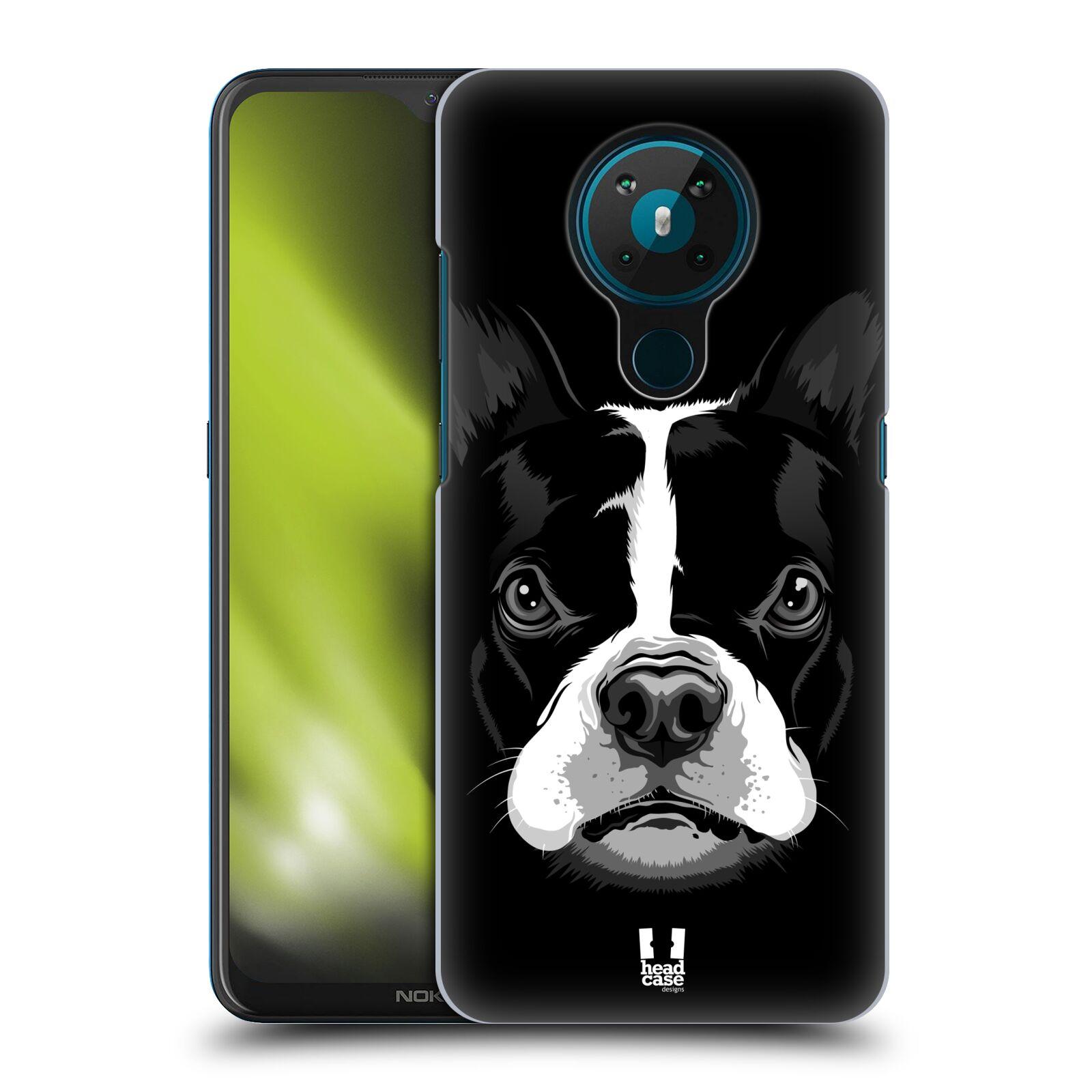 Plastové pouzdro na mobil Nokia 5.3 - Head Case - ILUSTROVANÝ BULDOČEK