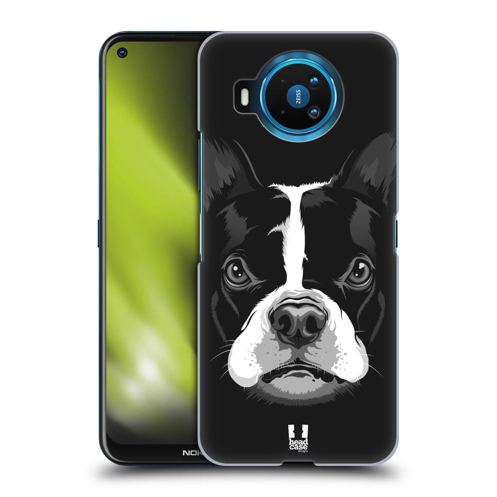 Plastové pouzdro na mobil Nokia 8.3 5G - Head Case - ILUSTROVANÝ BULDOČEK