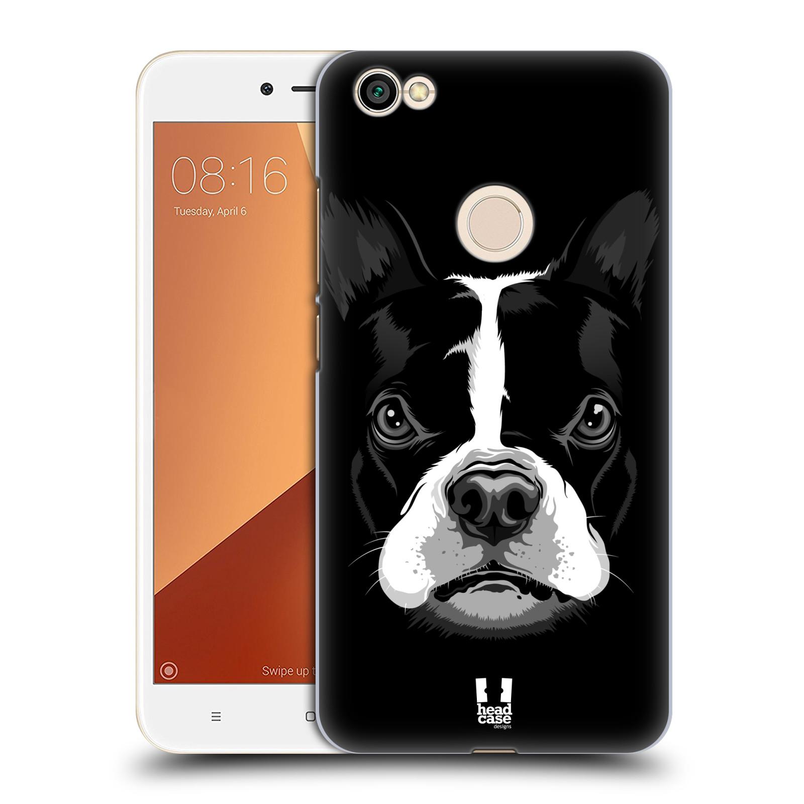 Plastové pouzdro na mobil Xiaomi Redmi Note 5A Prime - Head Case - ILUSTROVANÝ BULDOČEK