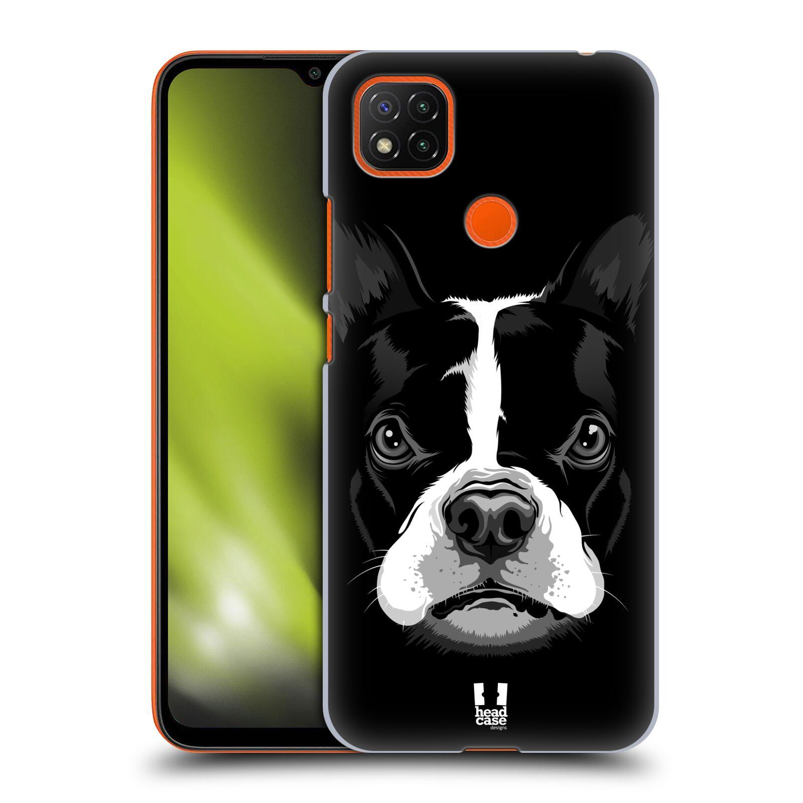 Plastové pouzdro na mobil Xiaomi Redmi 9C - Head Case - ILUSTROVANÝ BULDOČEK