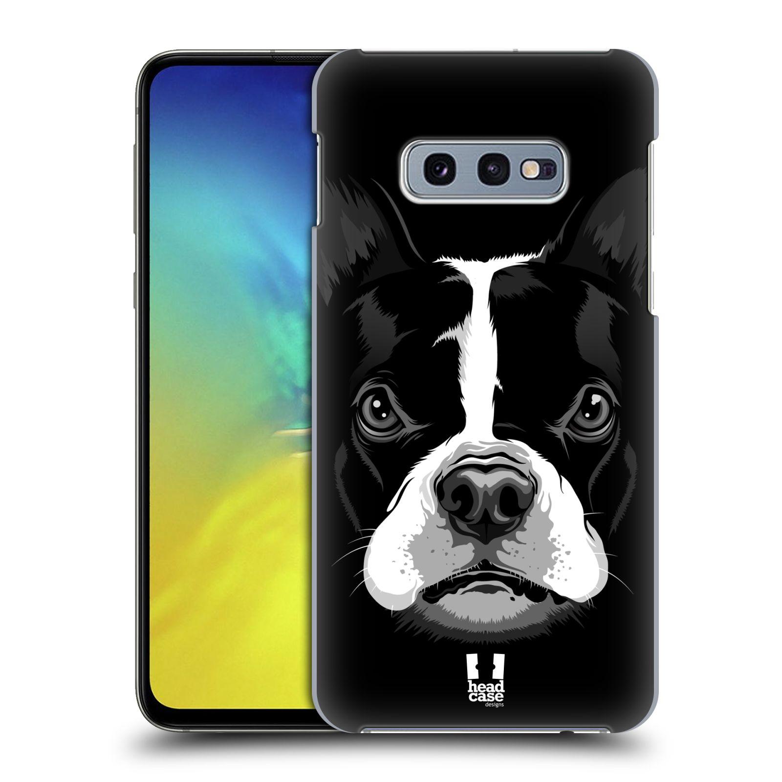 Plastové pouzdro na mobil Samsung Galaxy S10e - Head Case - ILUSTROVANÝ BULDOČEK