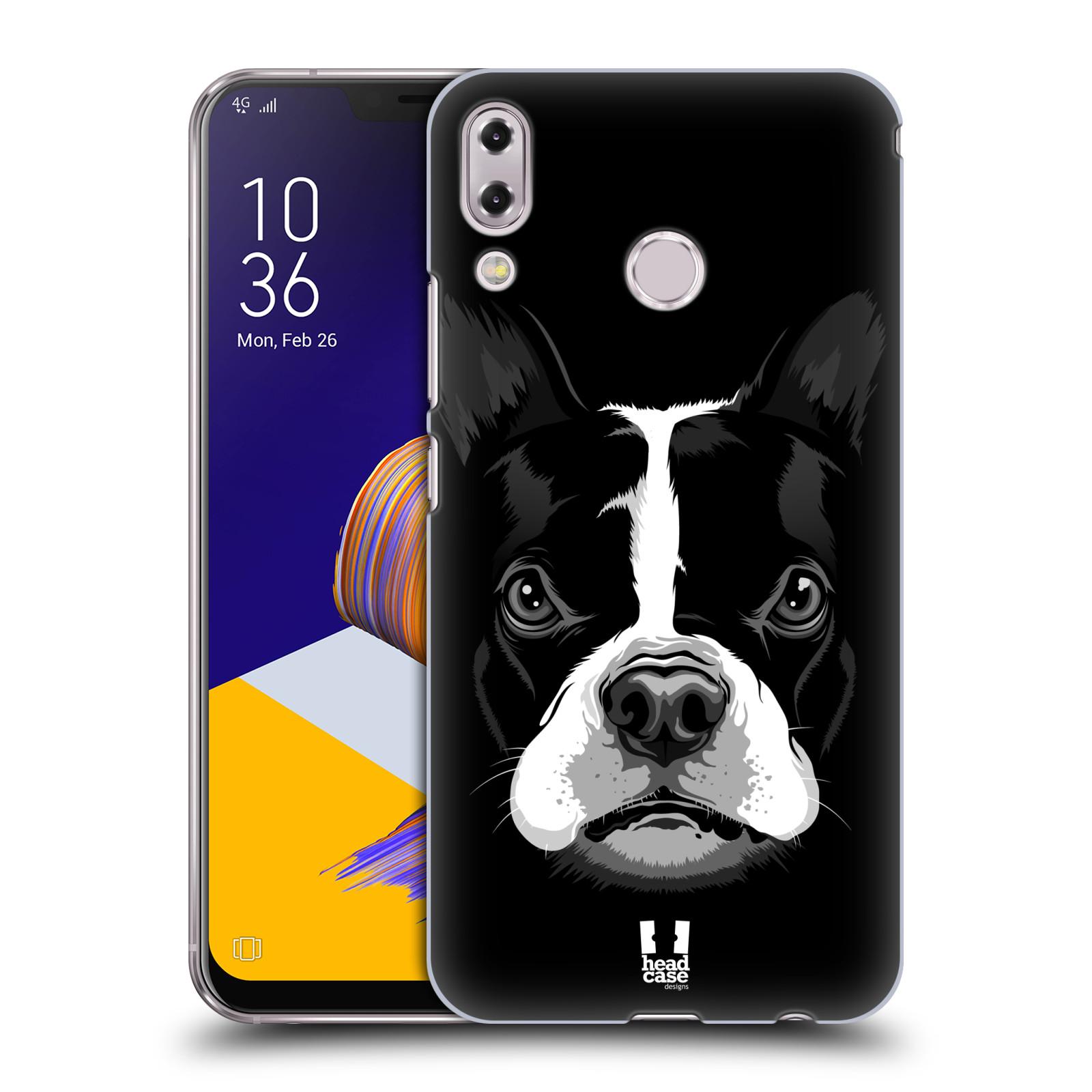 Plastové pouzdro na mobil Asus Zenfone 5z ZS620KL - Head Case - ILUSTROVANÝ BULDOČEK