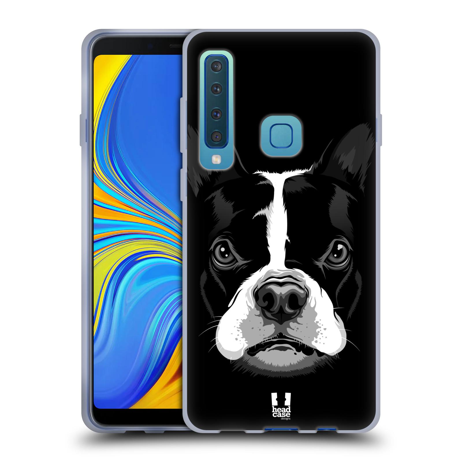 Silikonové pouzdro na mobil Samsung Galaxy A9 (2018) - Head Case - ILUSTROVANÝ BULDOČEK