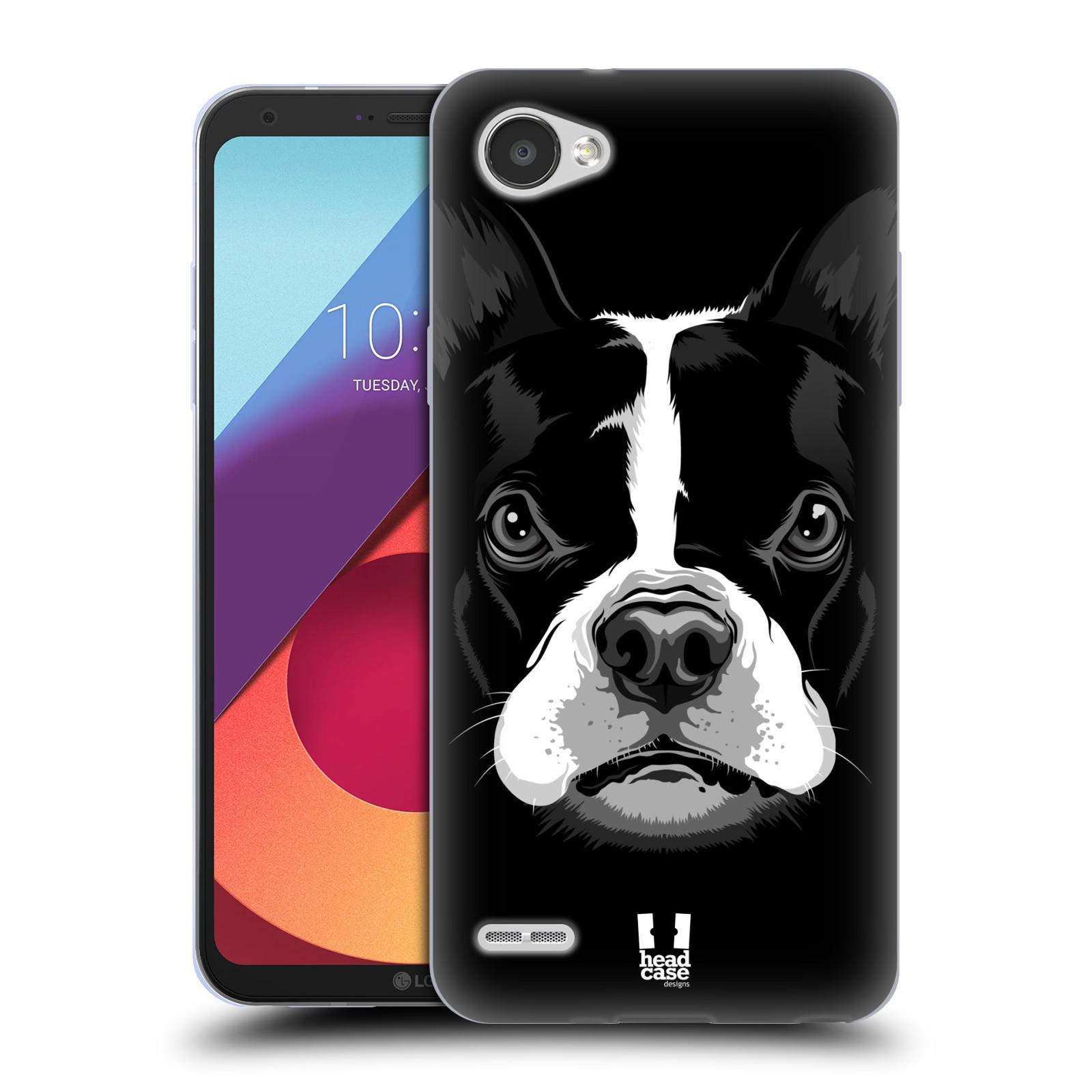 Silikonové pouzdro na mobil LG Q6 - Head Case - ILUSTROVANÝ BULDOČEK
